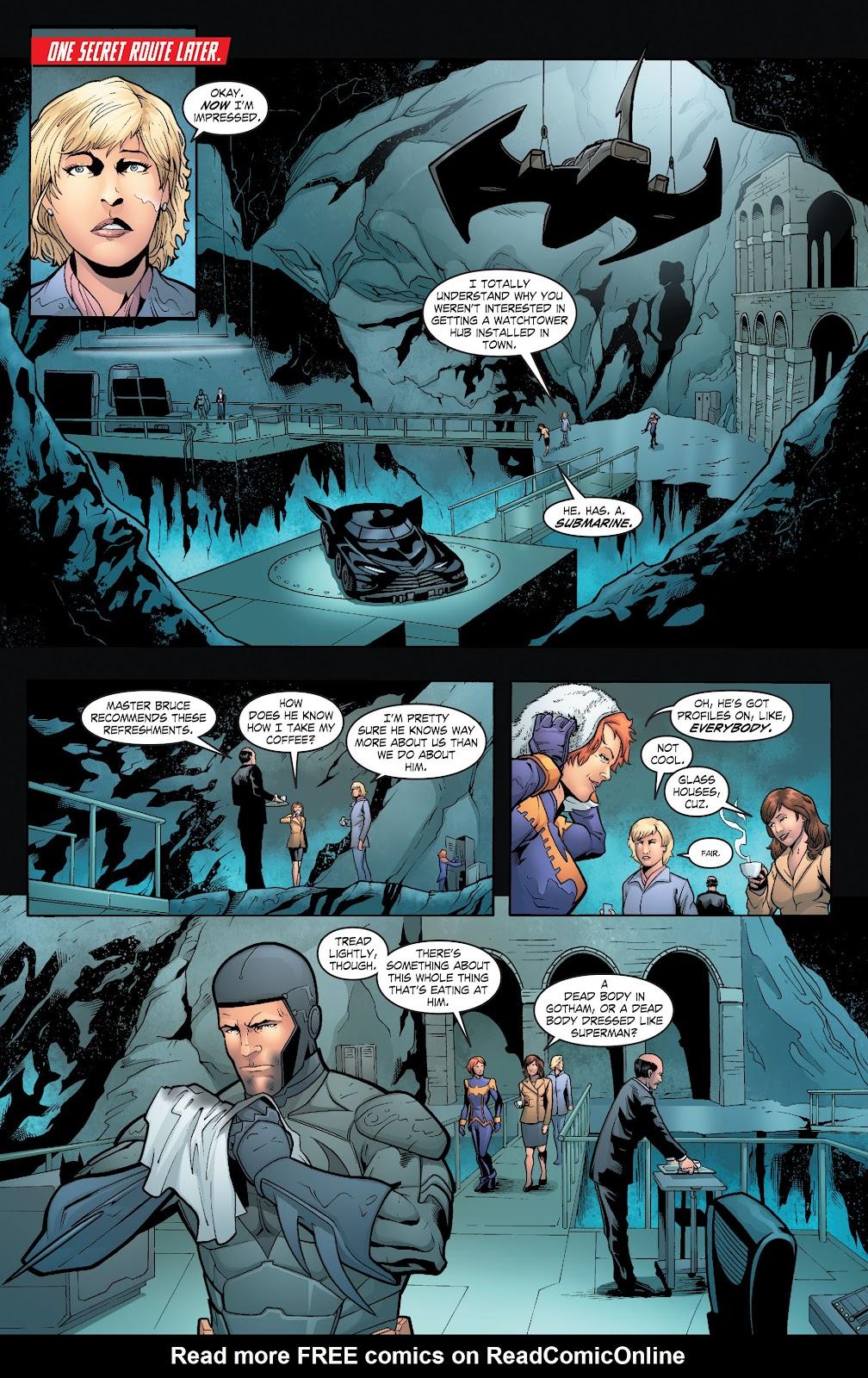 Read online Smallville Season 11 [II] comic -  Issue # TPB 6 - 103