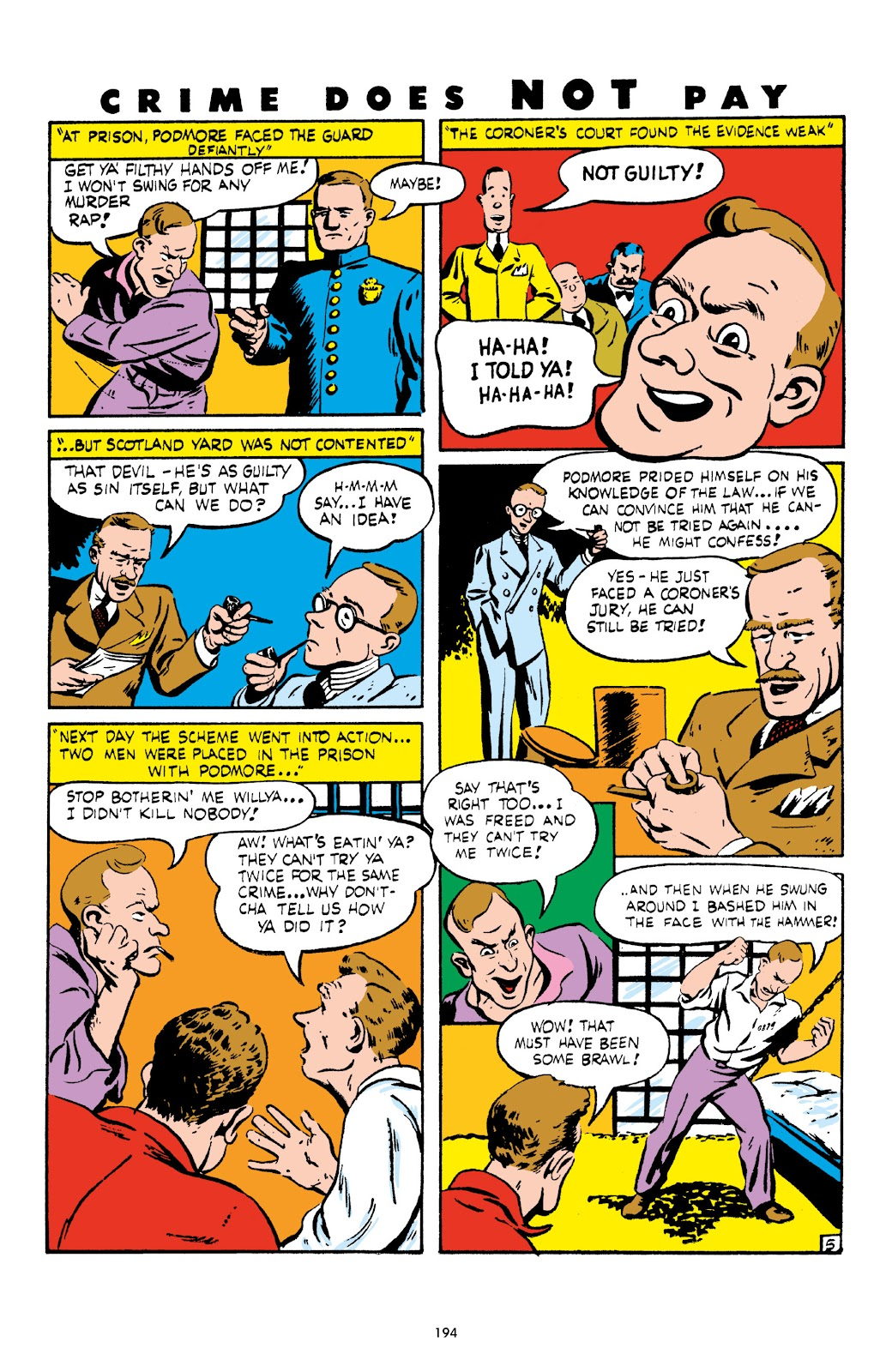Read online Crime Does Not Pay Archives comic -  Issue # TPB 4 (Part 2) - 94