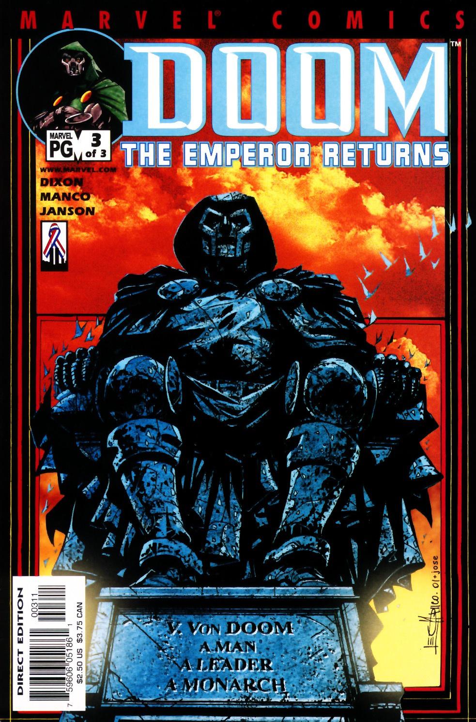 Doom: The Emperor Returns 3 Page 1