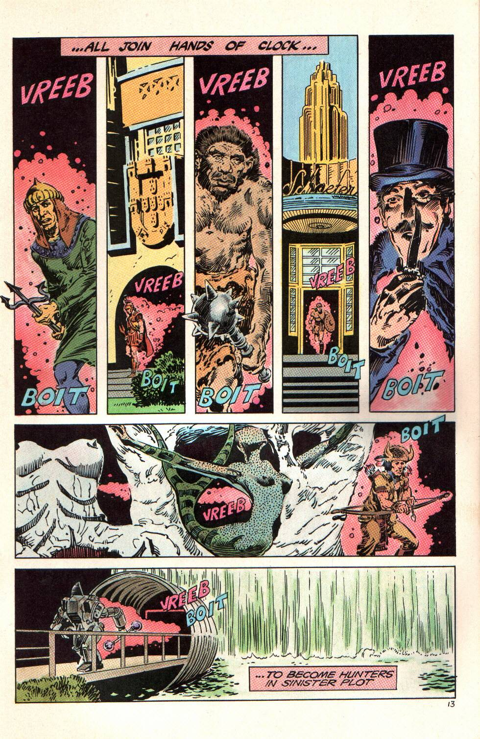 Read online Aztec Ace comic -  Issue #6 - 14