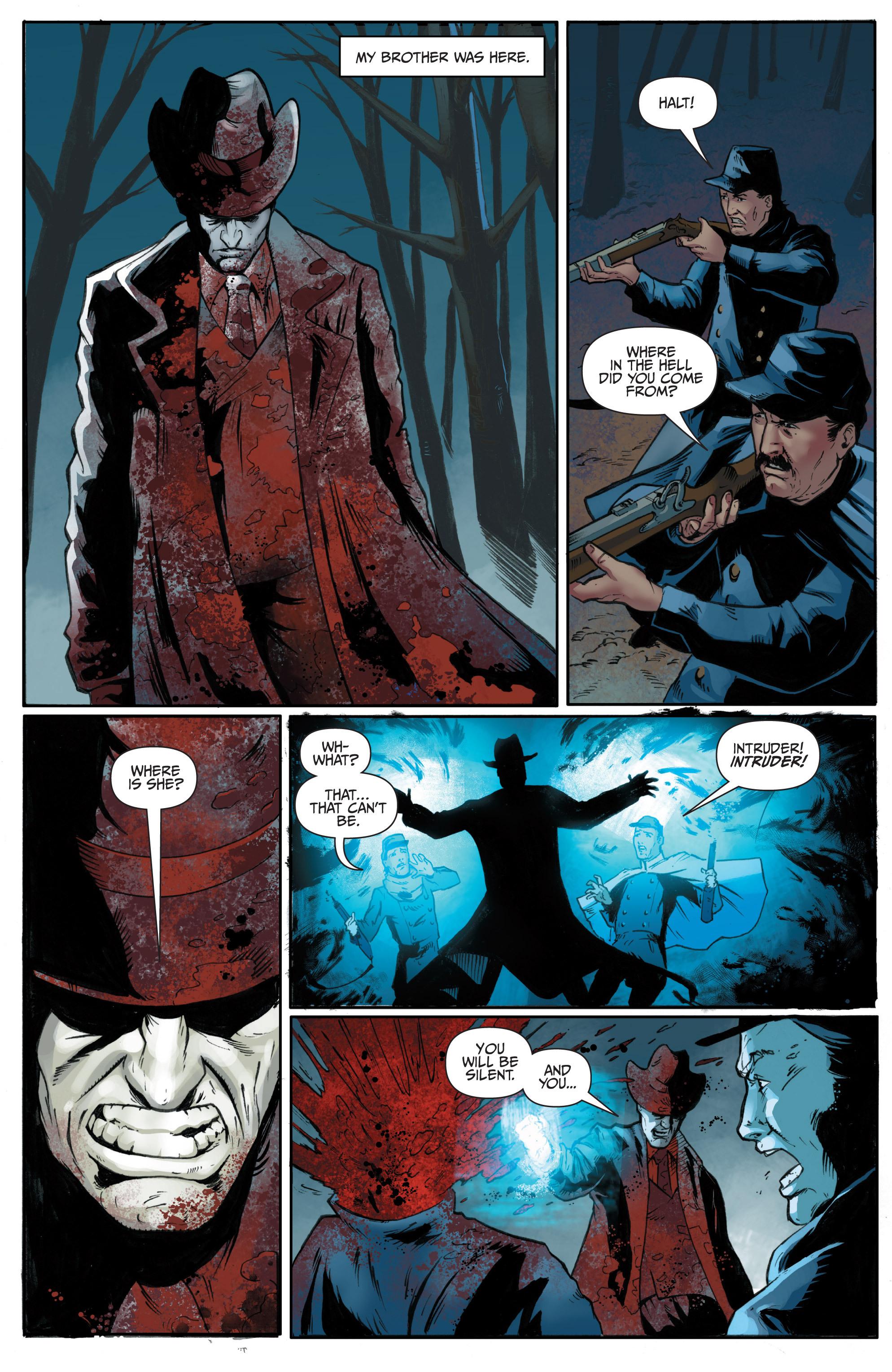 Read online Shadowman (2012) comic -  Issue #10 - 14