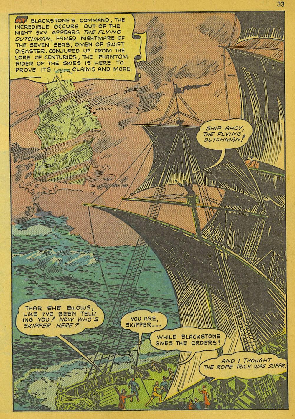 Read online Super-Magician Comics comic -  Issue #10 - 33