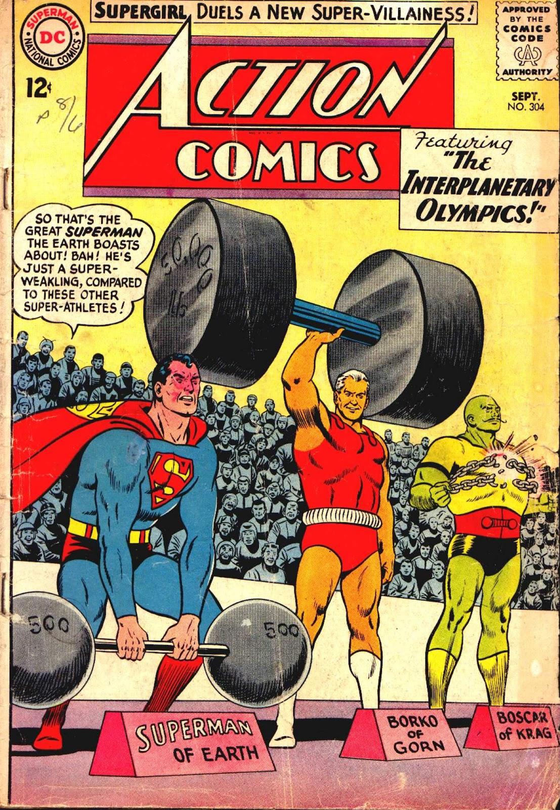 Action Comics (1938) 304 Page 1