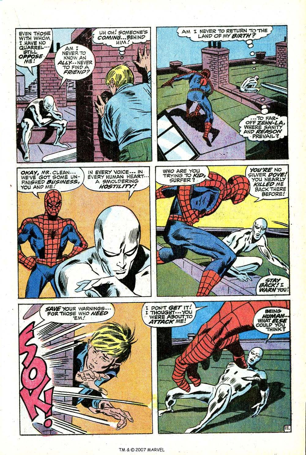 Read online Silver Surfer (1968) comic -  Issue #14 - 17
