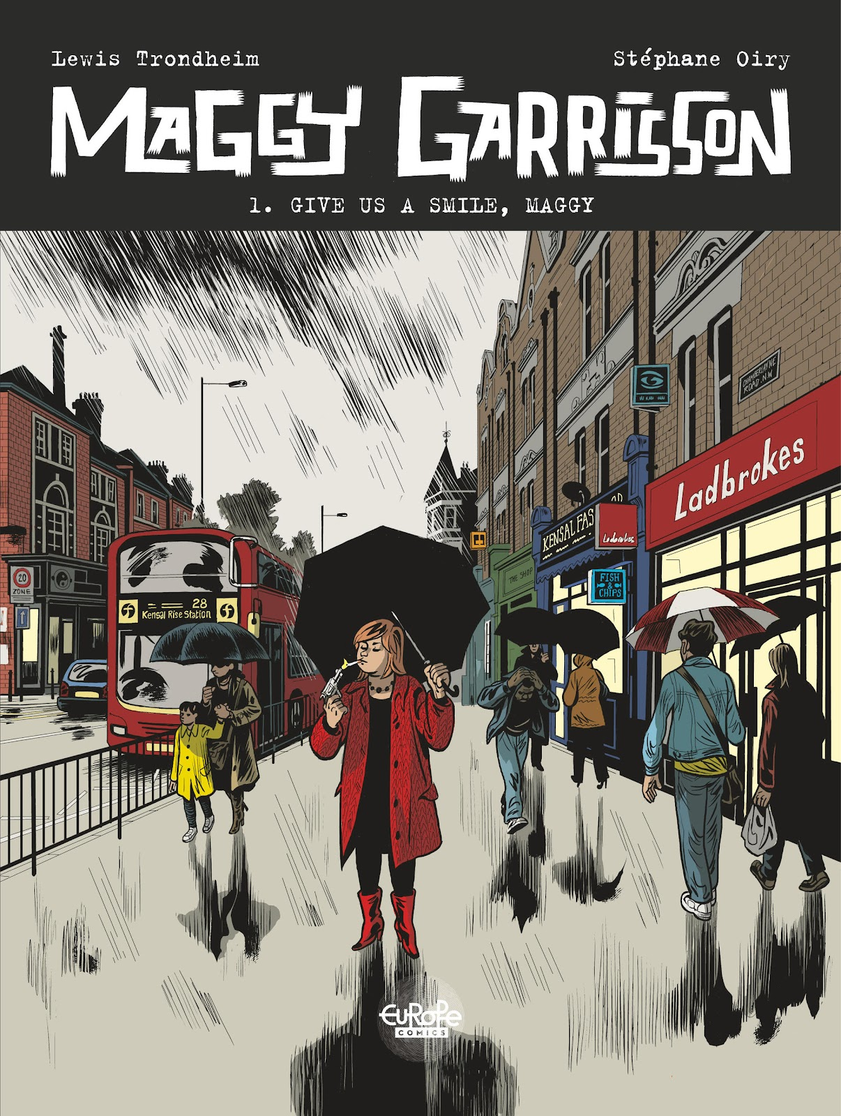 Read online Maggy Garrisson comic -  Issue #1 - 1