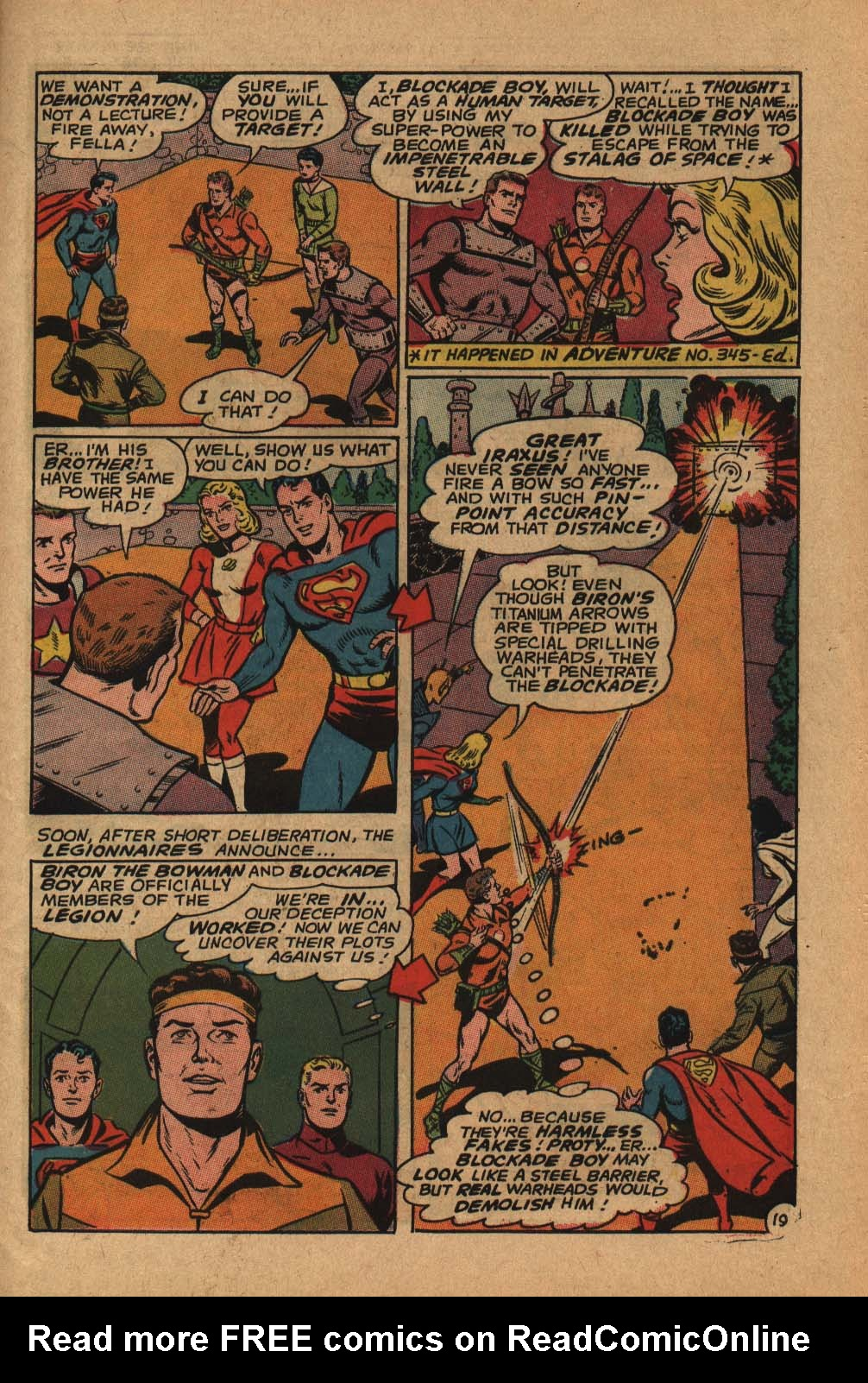 Read online Adventure Comics (1938) comic -  Issue #364 - 27