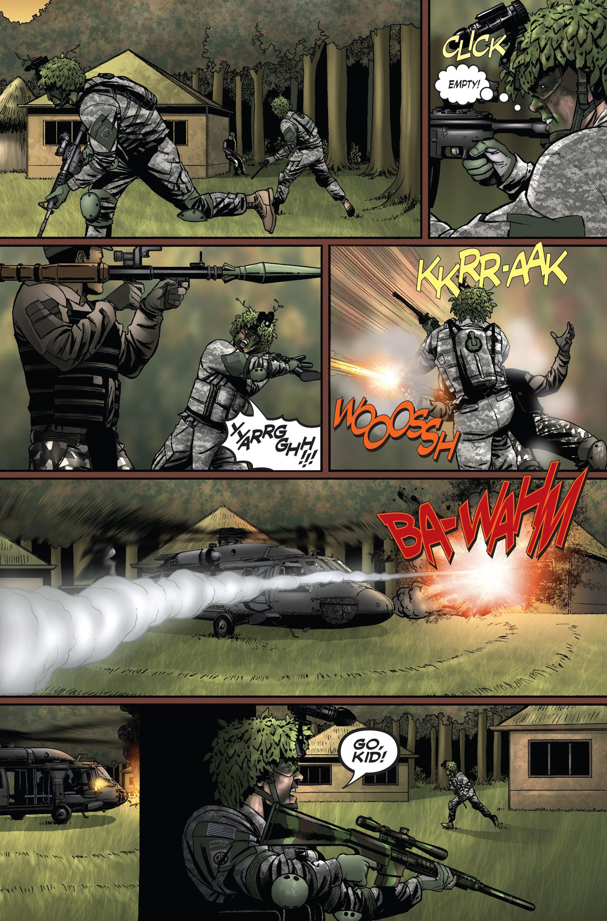 Read online America's Army comic -  Issue #1 - 22