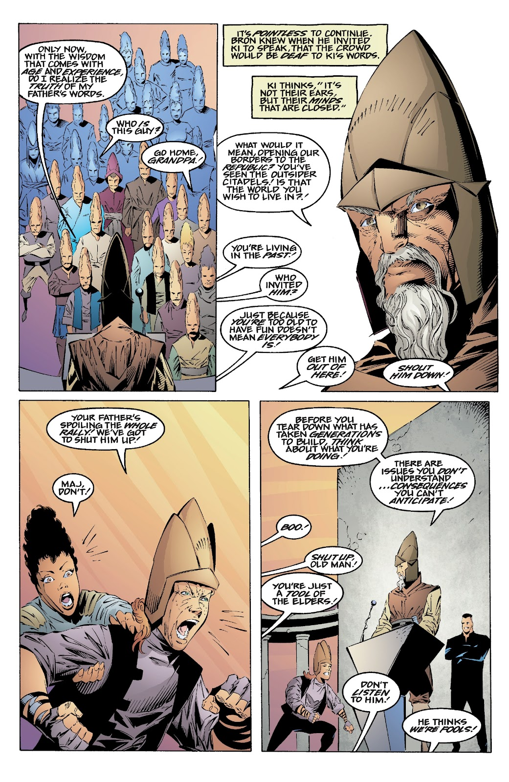 Read online Star Wars Legends: Rise of the Sith - Epic Collection comic -  Issue # TPB 2 (Part 1) - 25