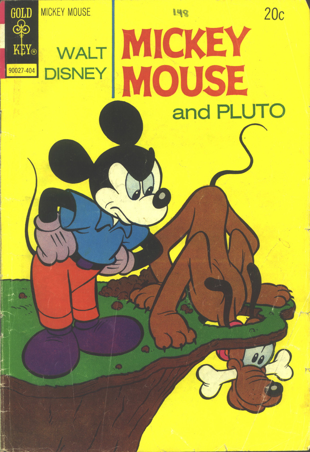 Walt Disney's Mickey Mouse issue 148 - Page 1