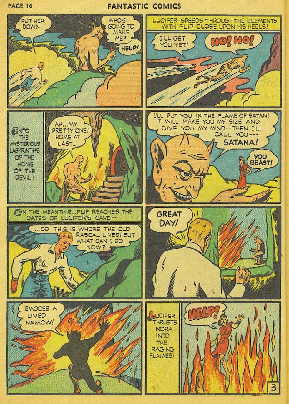 Read online Fantastic Comics comic -  Issue #15 - 9