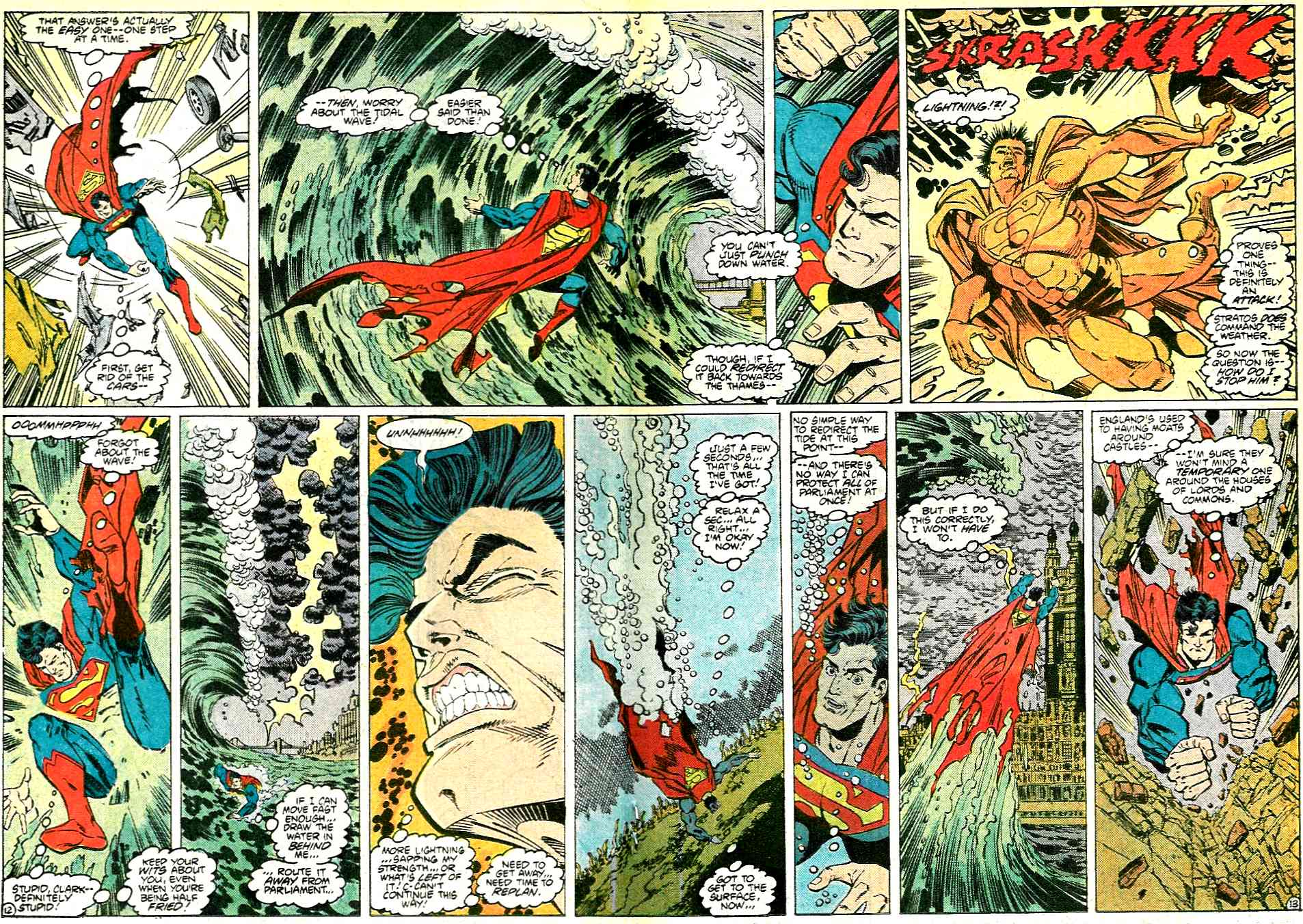 Read online Adventures of Superman (1987) comic -  Issue #431 - 13