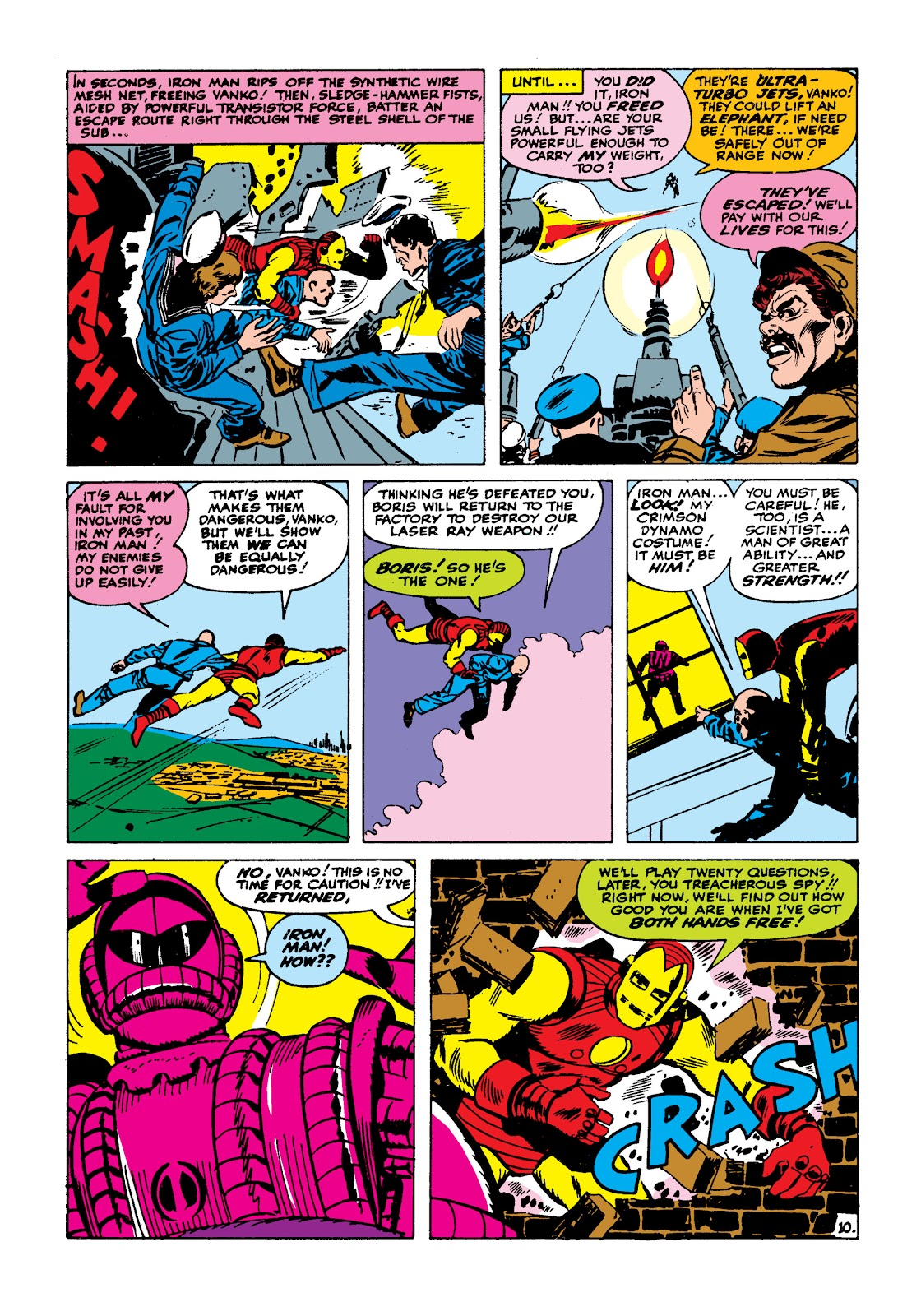 Read online Marvel Masterworks: The Invincible Iron Man comic -  Issue # TPB 2 (Part 1) - 27