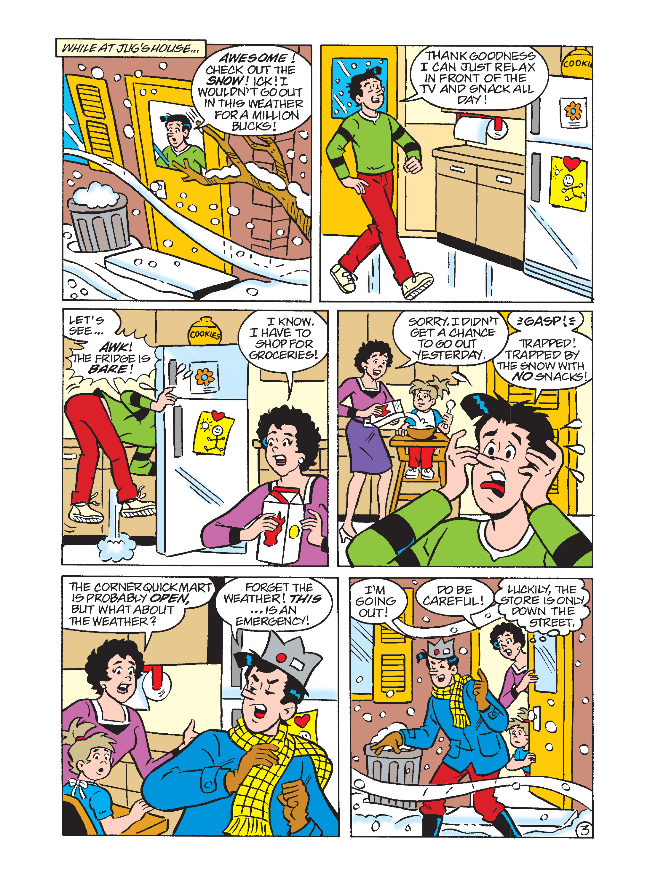 Read online Archie's Funhouse Double Digest comic -  Issue #1 - 146