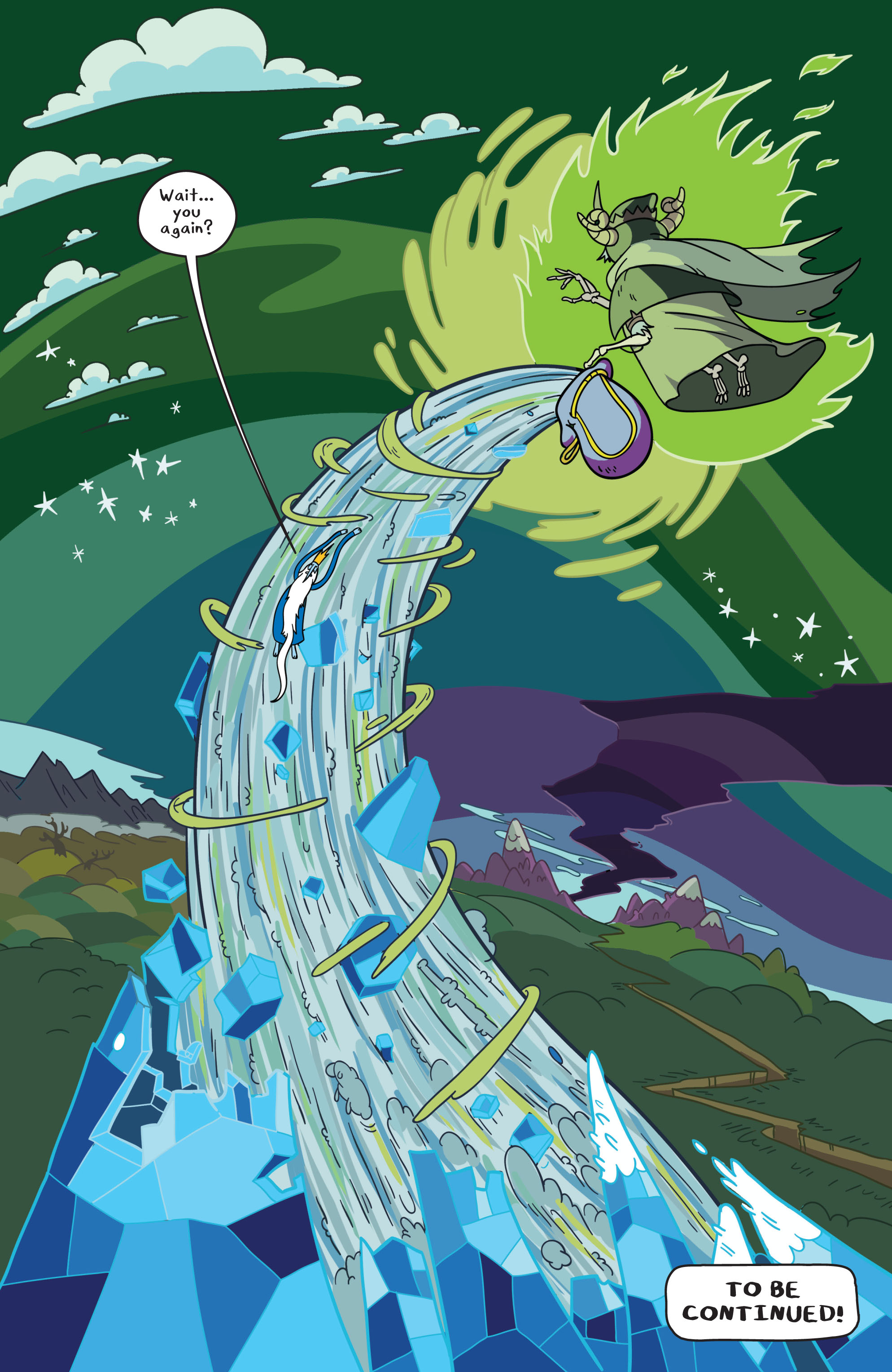Read online Adventure Time comic -  Issue #1 - 21