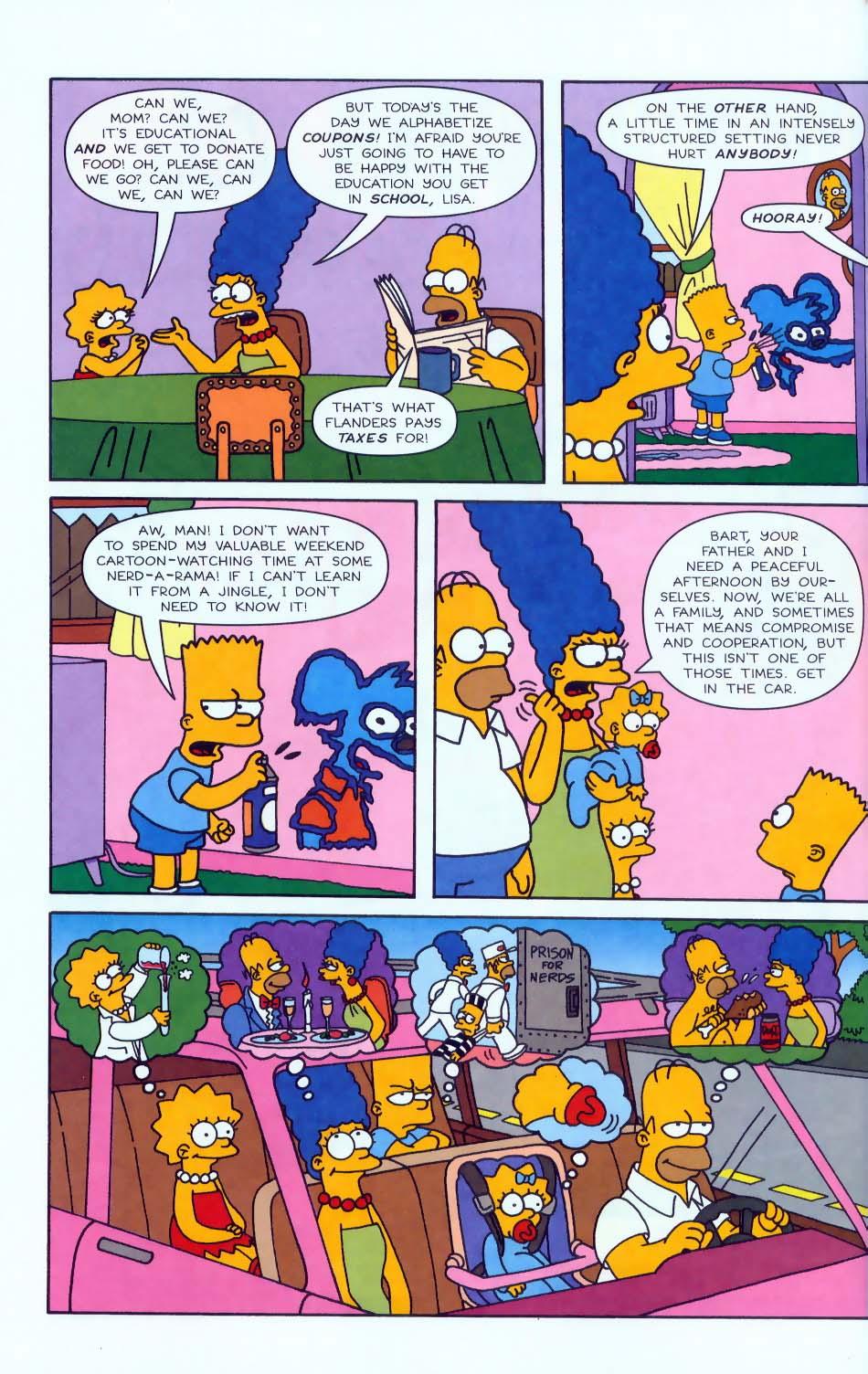 Read online Simpsons Comics comic -  Issue #50 - 65