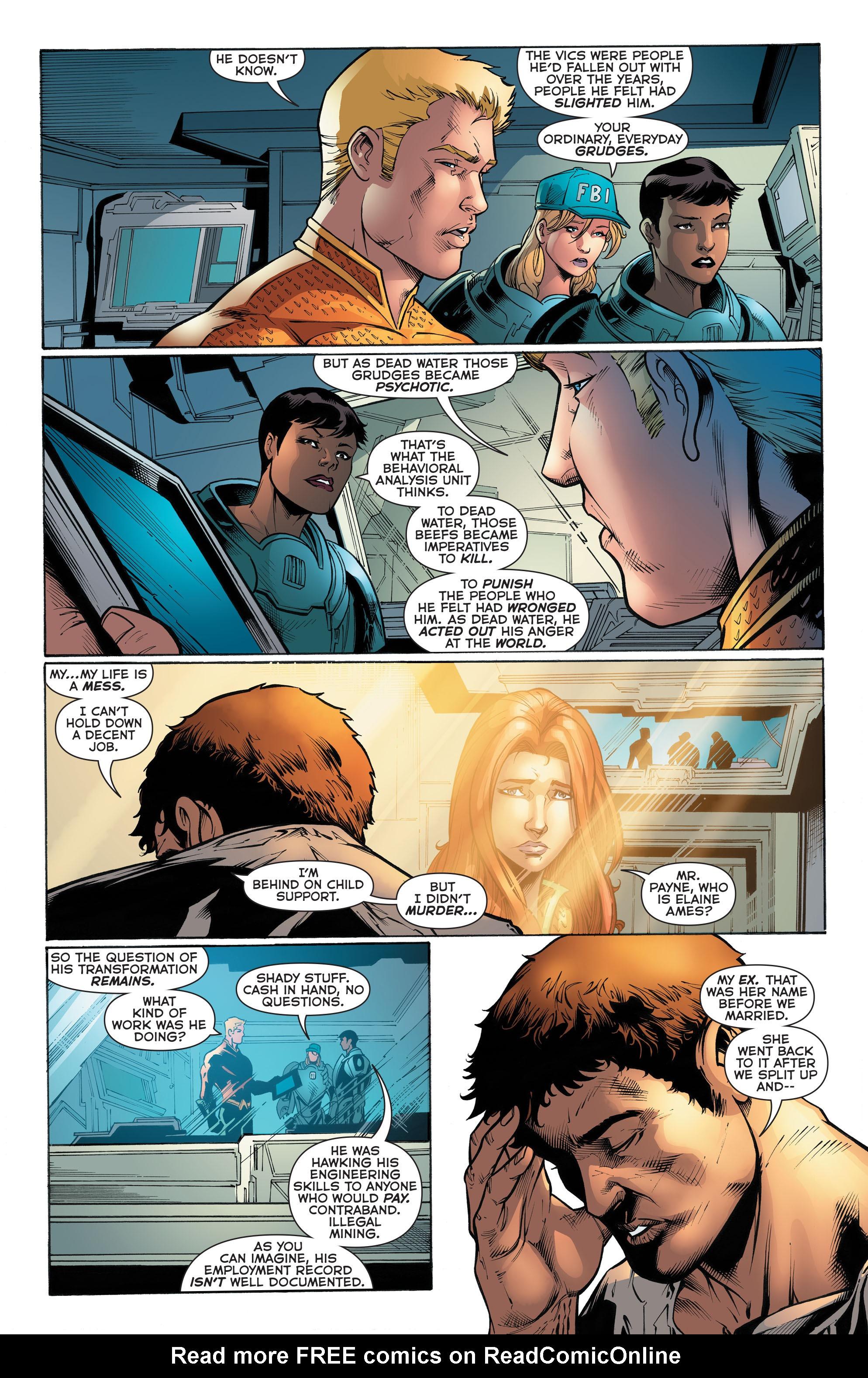 Read online Aquaman (2011) comic -  Issue #51 - 14