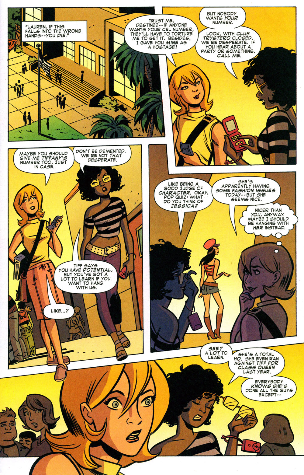 Read online Bad Girls comic -  Issue #2 - 2