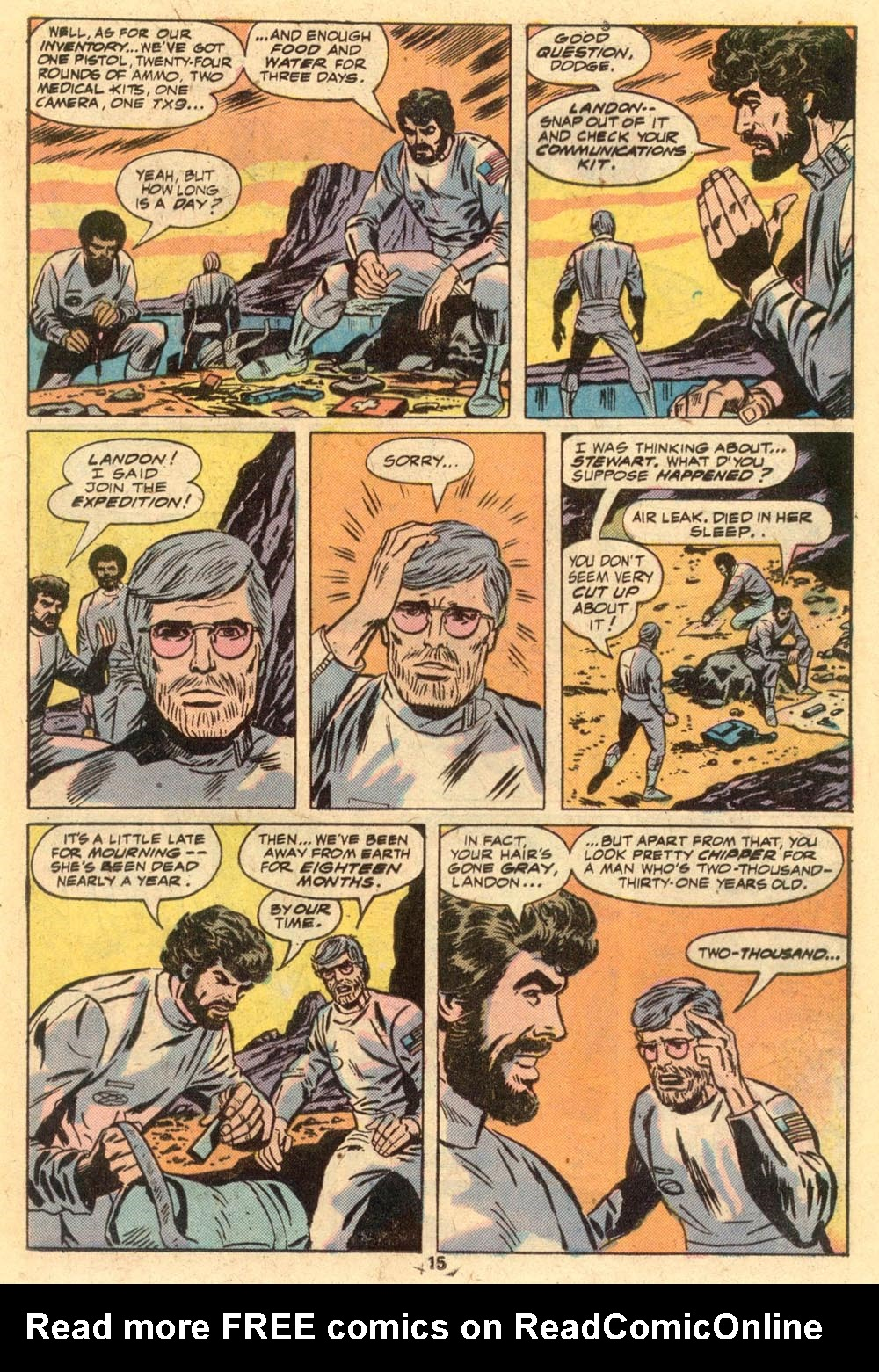 Read online Adventures on the Planet of the Apes comic -  Issue #1 - 10