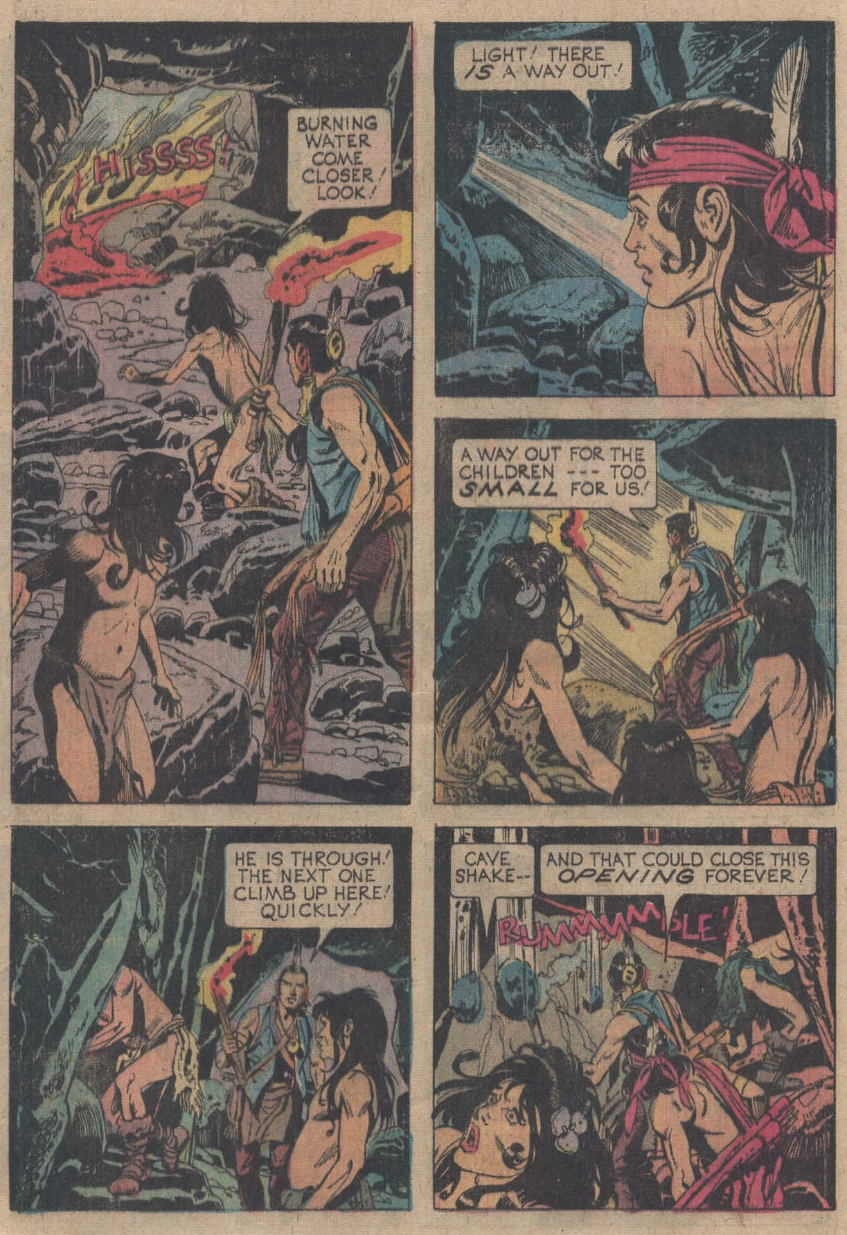 Read online Turok, Son of Stone comic -  Issue #106 - 32