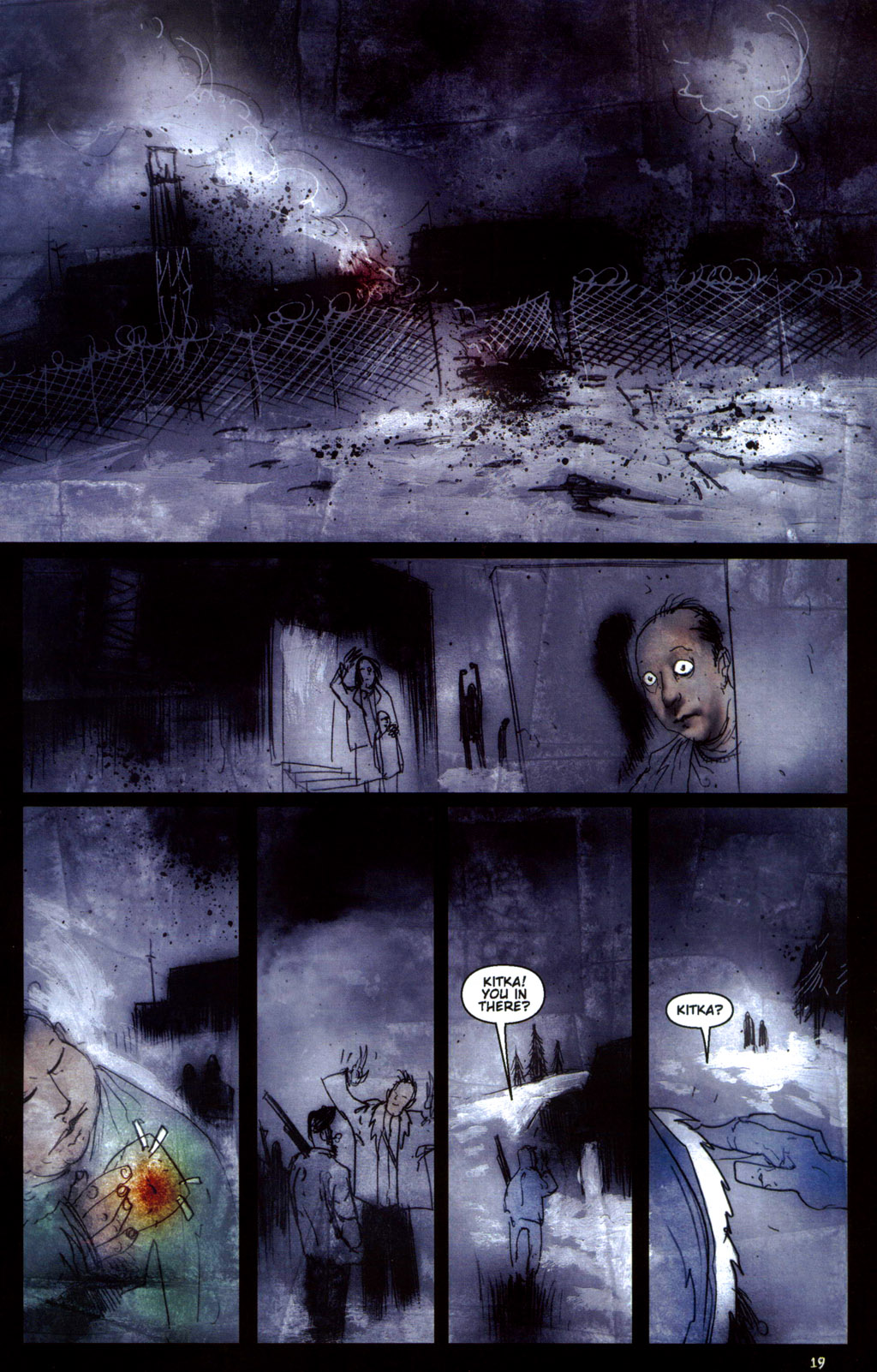 Read online 30 Days of Night: Return to Barrow comic -  Issue #6 - 21