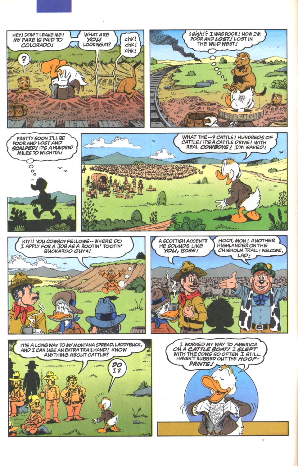 Read online Uncle Scrooge (1953) comic -  Issue #287 - 5