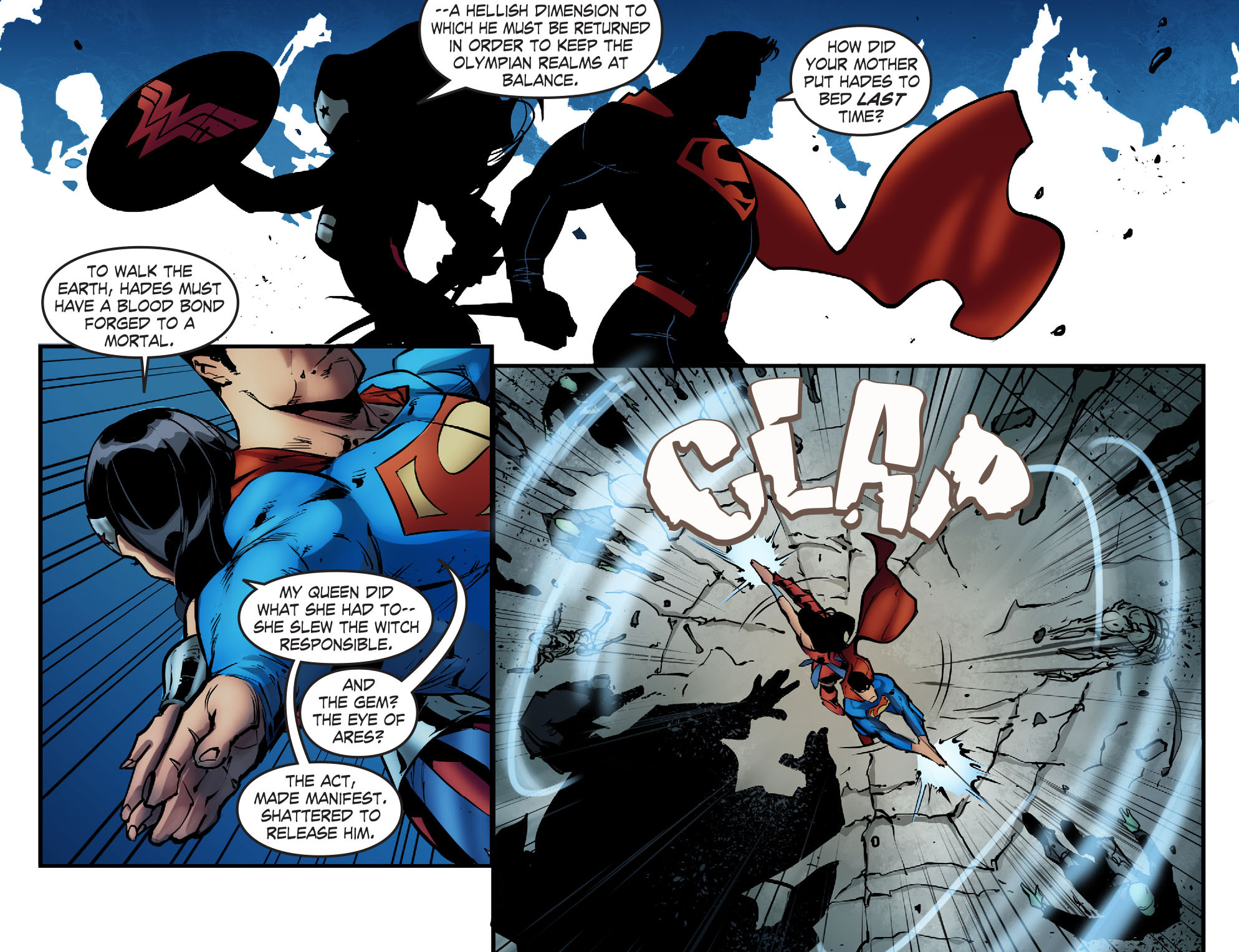 Read online Smallville: Season 11 comic -  Issue #68 - 12