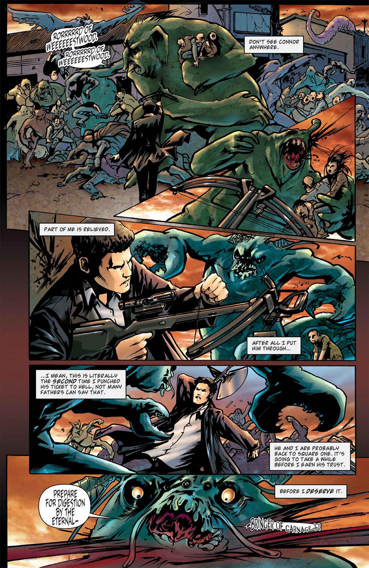 Read online Angel: After The Fall comic -  Issue #2 - 8