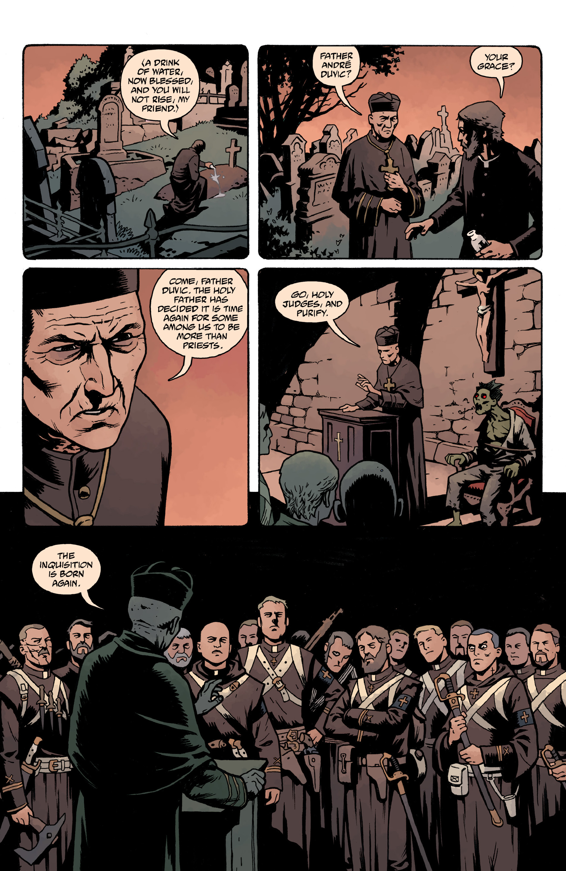 Read online Baltimore Volume 3: A Passing Stranger and Other Stories comic -  Issue # Full - 134