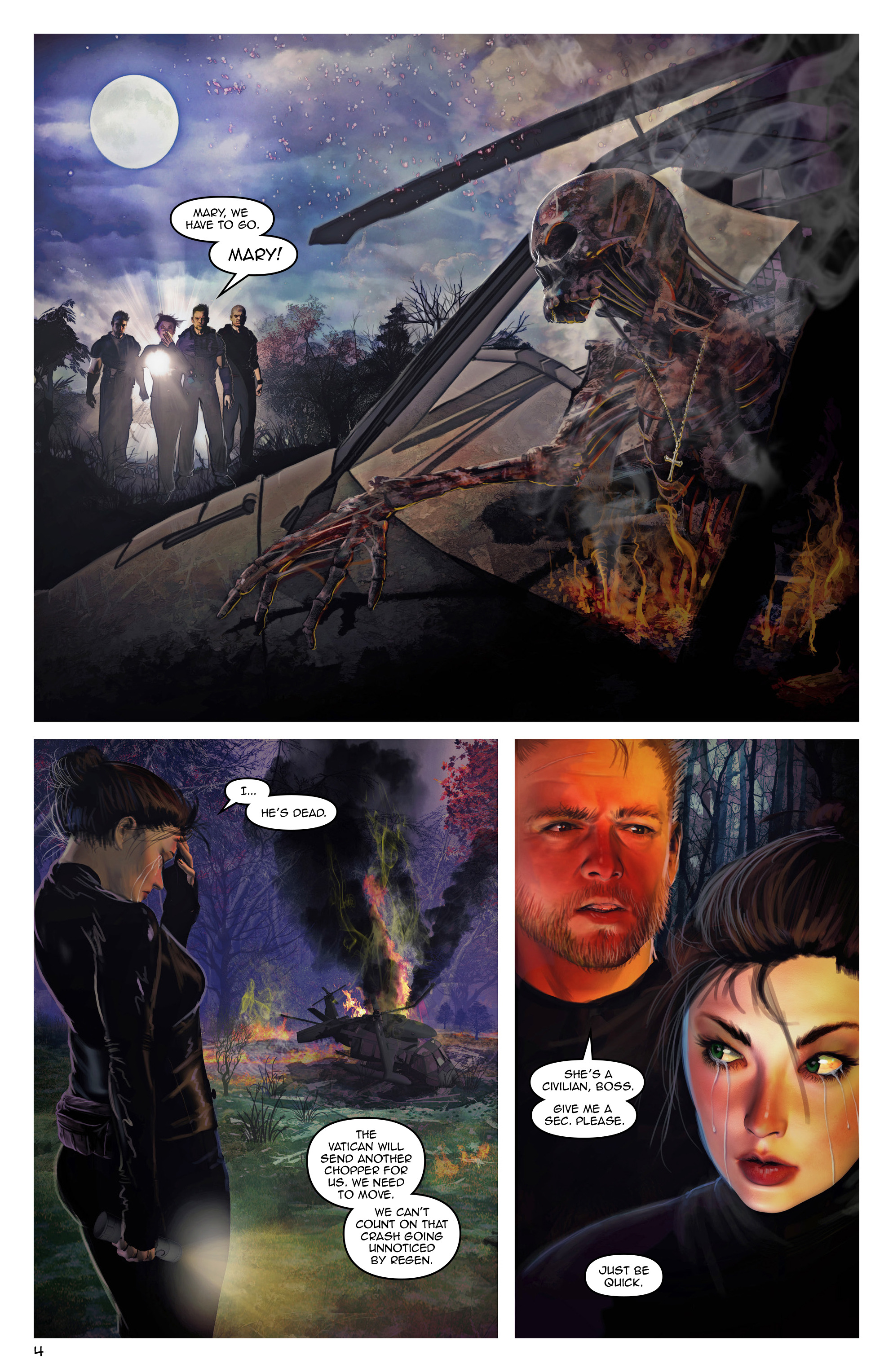 Read online Escape from Jesus Island comic -  Issue #3 - 4