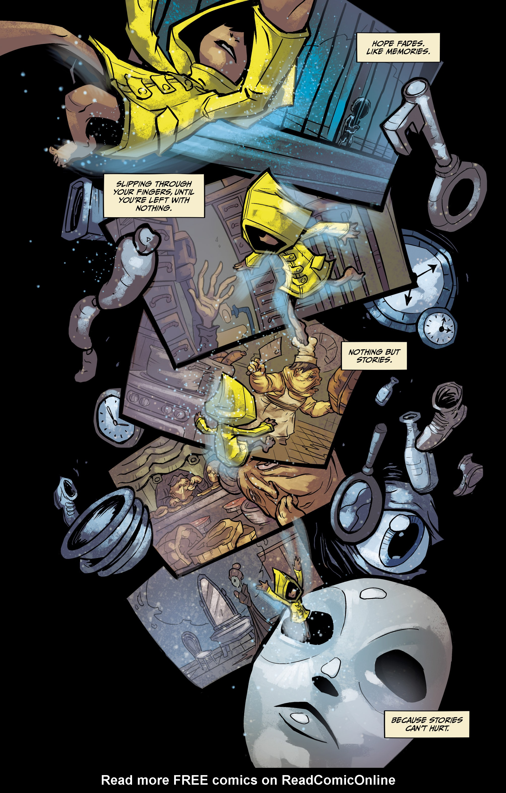 Read online Little Nightmares comic -  Issue #1 - 11