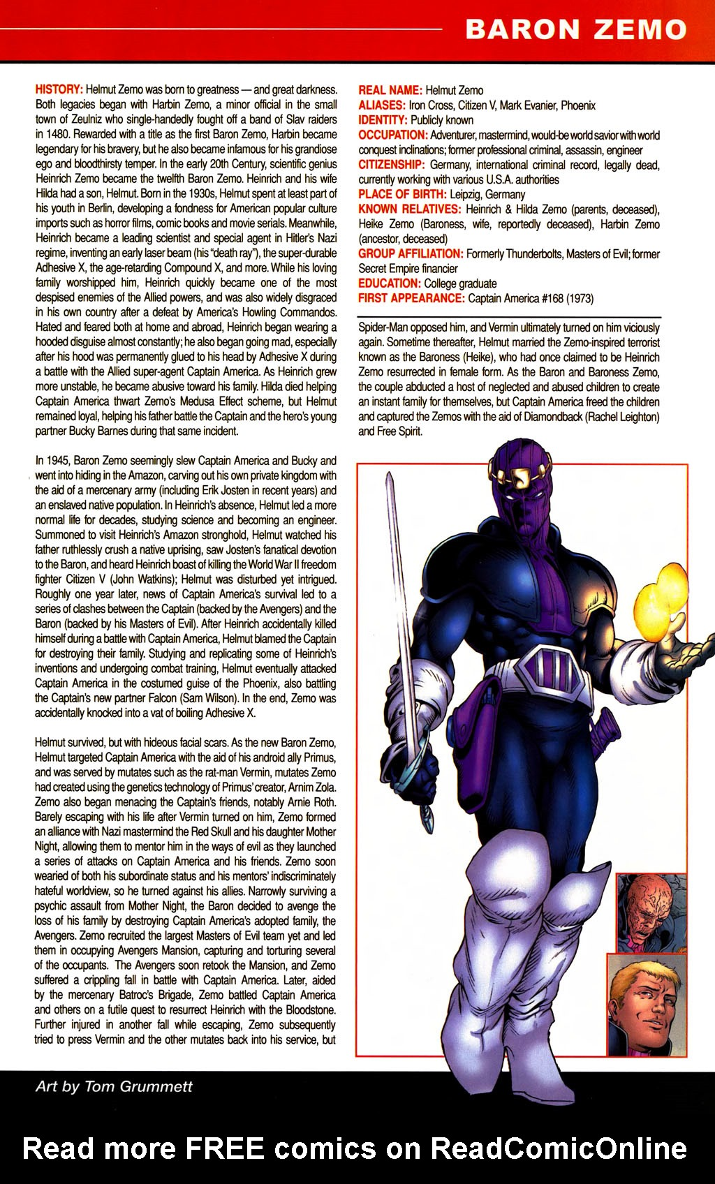Read online All-New Official Handbook of the Marvel Universe A to Z comic -  Issue #1 - 63