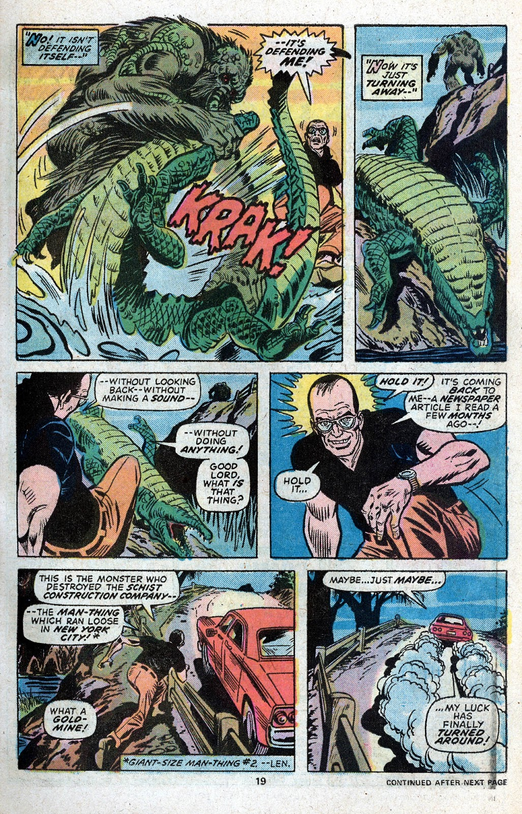Giant-Size Spider-Man (1974) issue 5 - Page 21