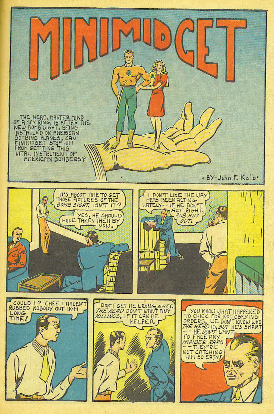 Read online Amazing Man Comics comic -  Issue #19 - 59