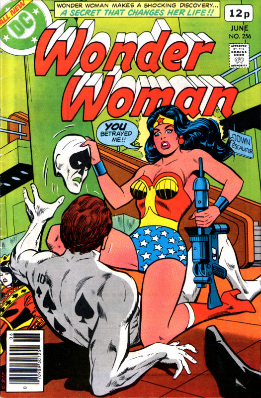 Read online Wonder Woman (1942) comic -  Issue #256 - 1