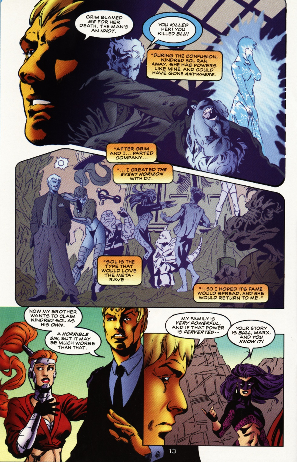 Read online Superboy & The Ravers comic -  Issue #12 - 14