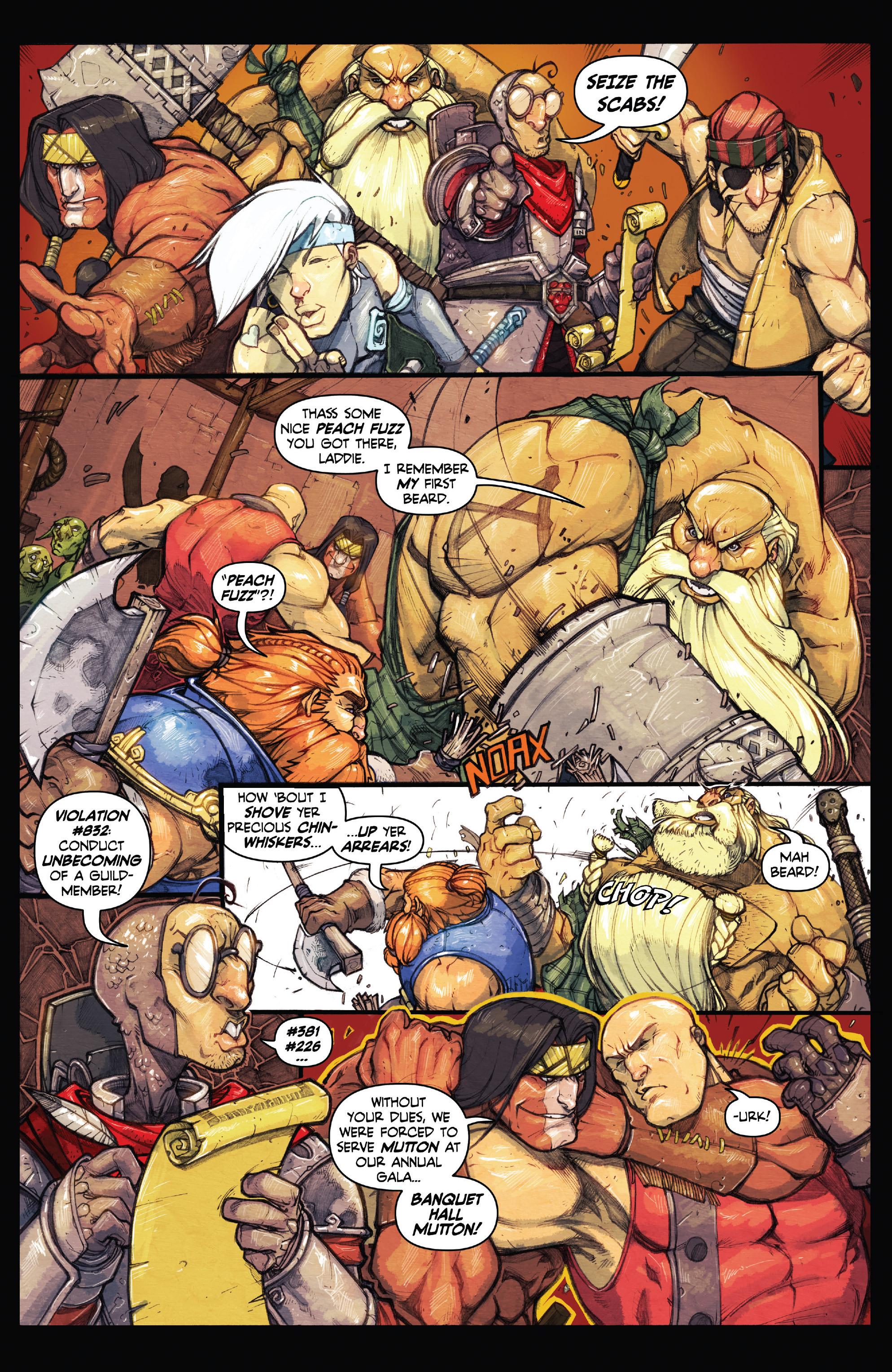 Read online Skullkickers comic -  Issue #18 - 33