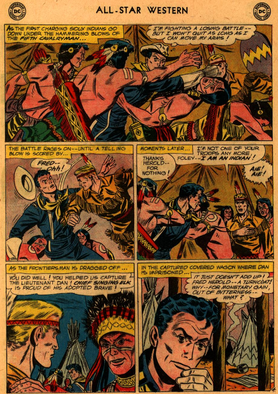 Read online All-Star Western (1951) comic -  Issue #107 - 18