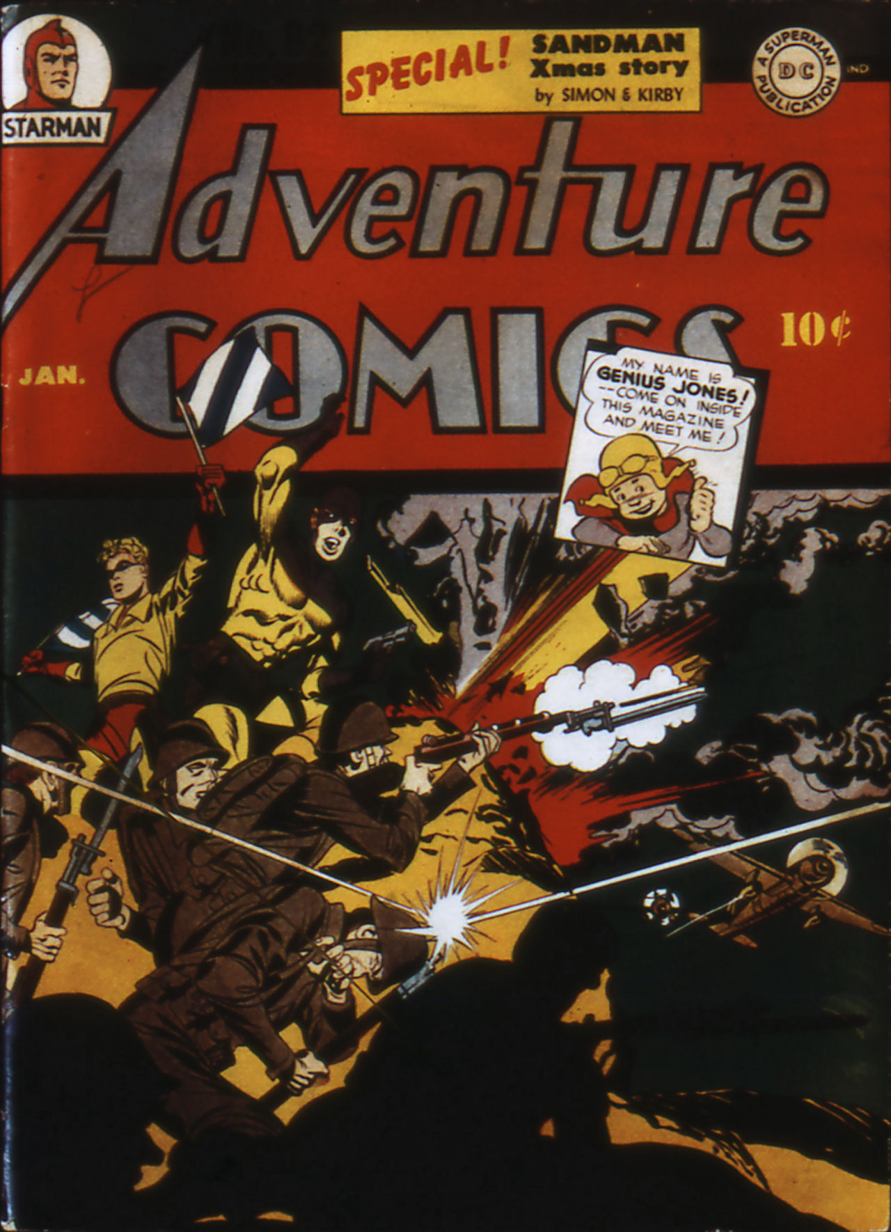 Read online Adventure Comics (1938) comic -  Issue #82 - 1
