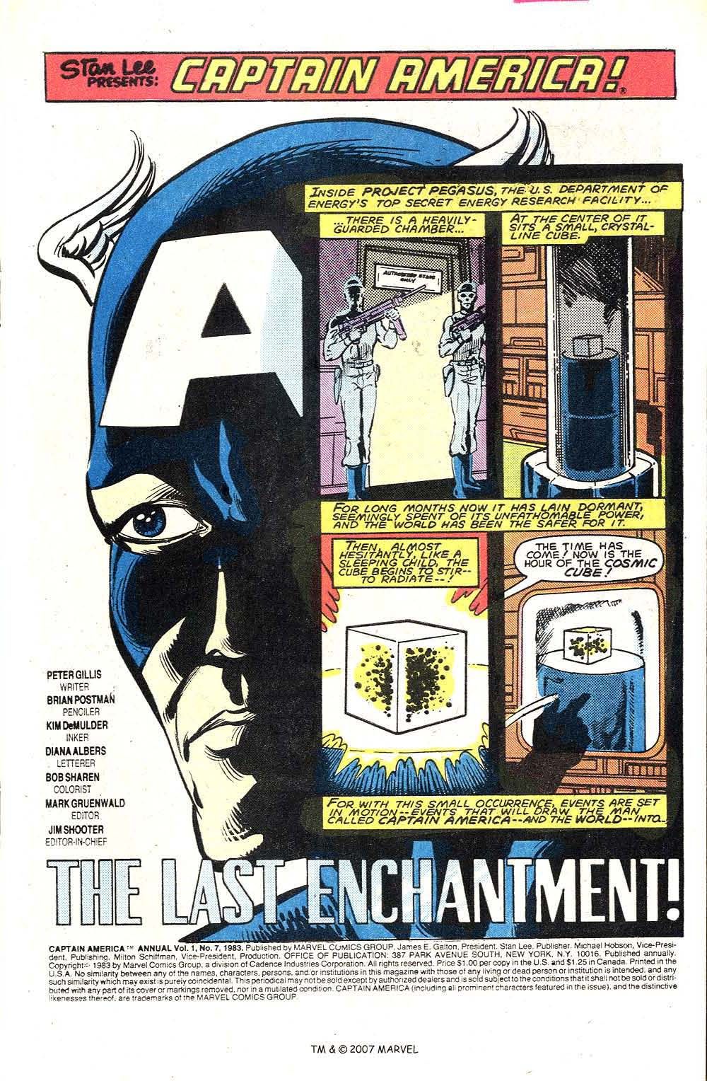 Read online Captain America (1968) comic -  Issue # _Annual 7 - 3