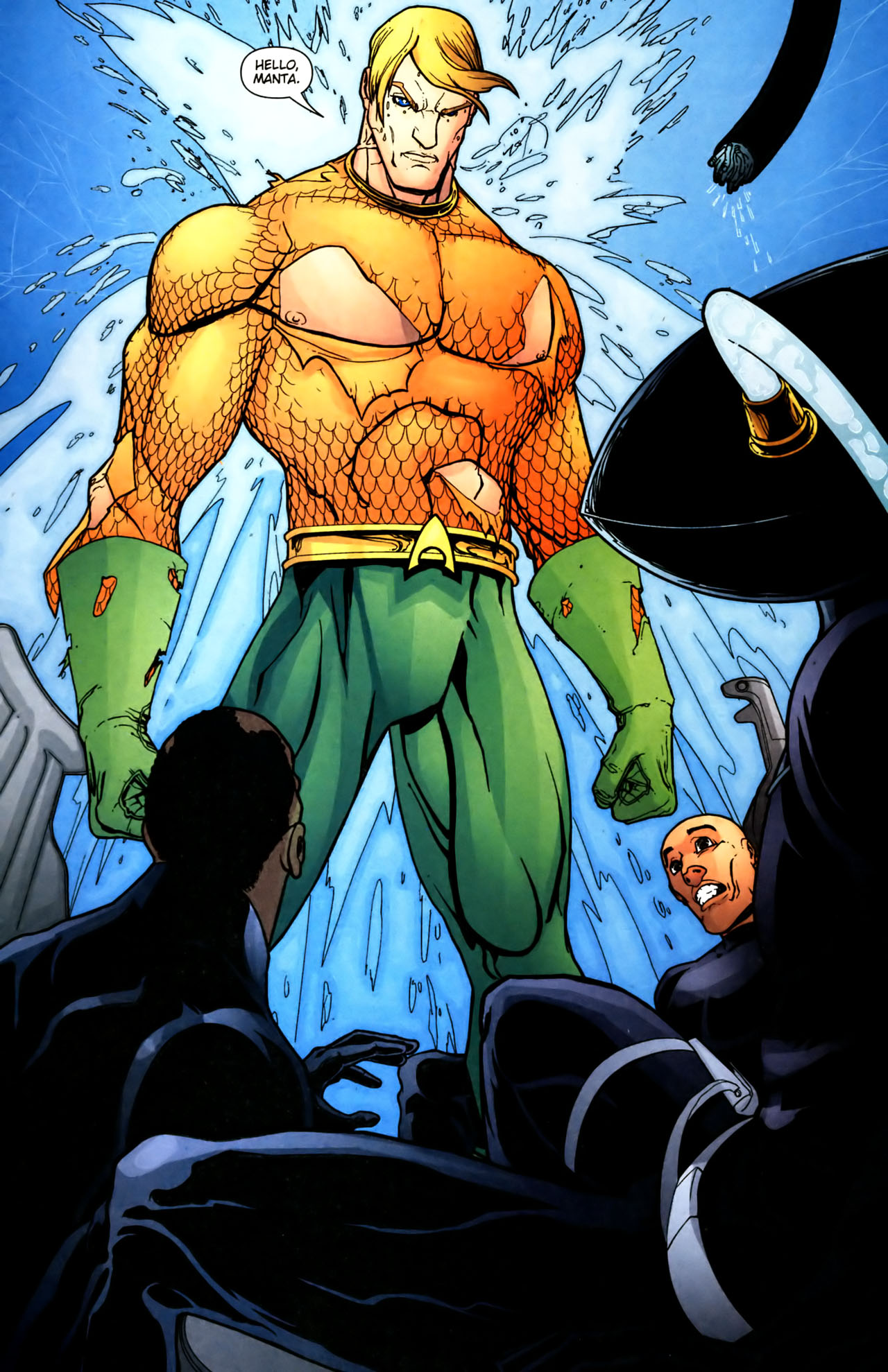 Read online Aquaman (2003) comic -  Issue #39 - 17