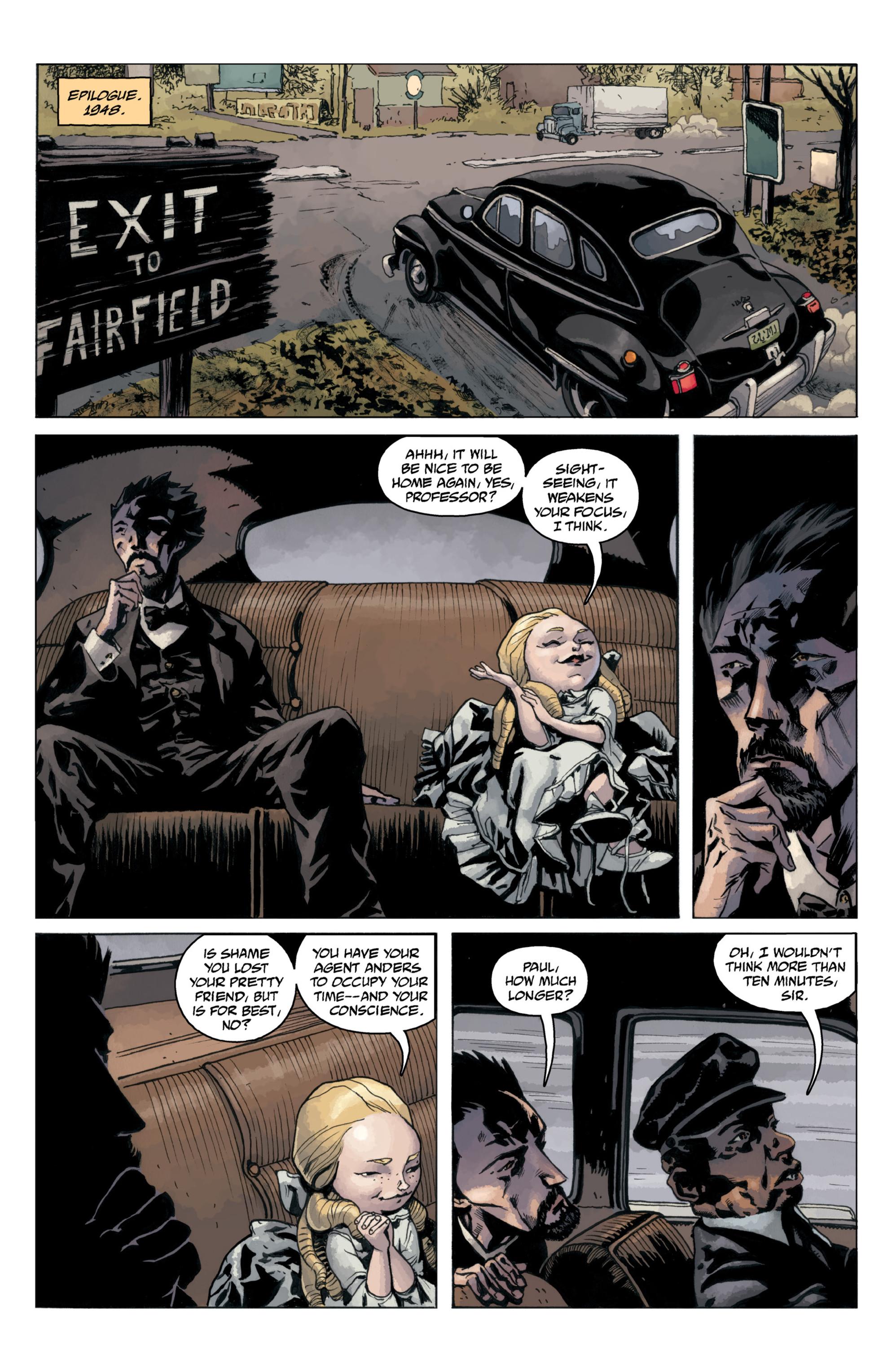 Read online B.P.R.D.: 1948 comic -  Issue # TPB - 122