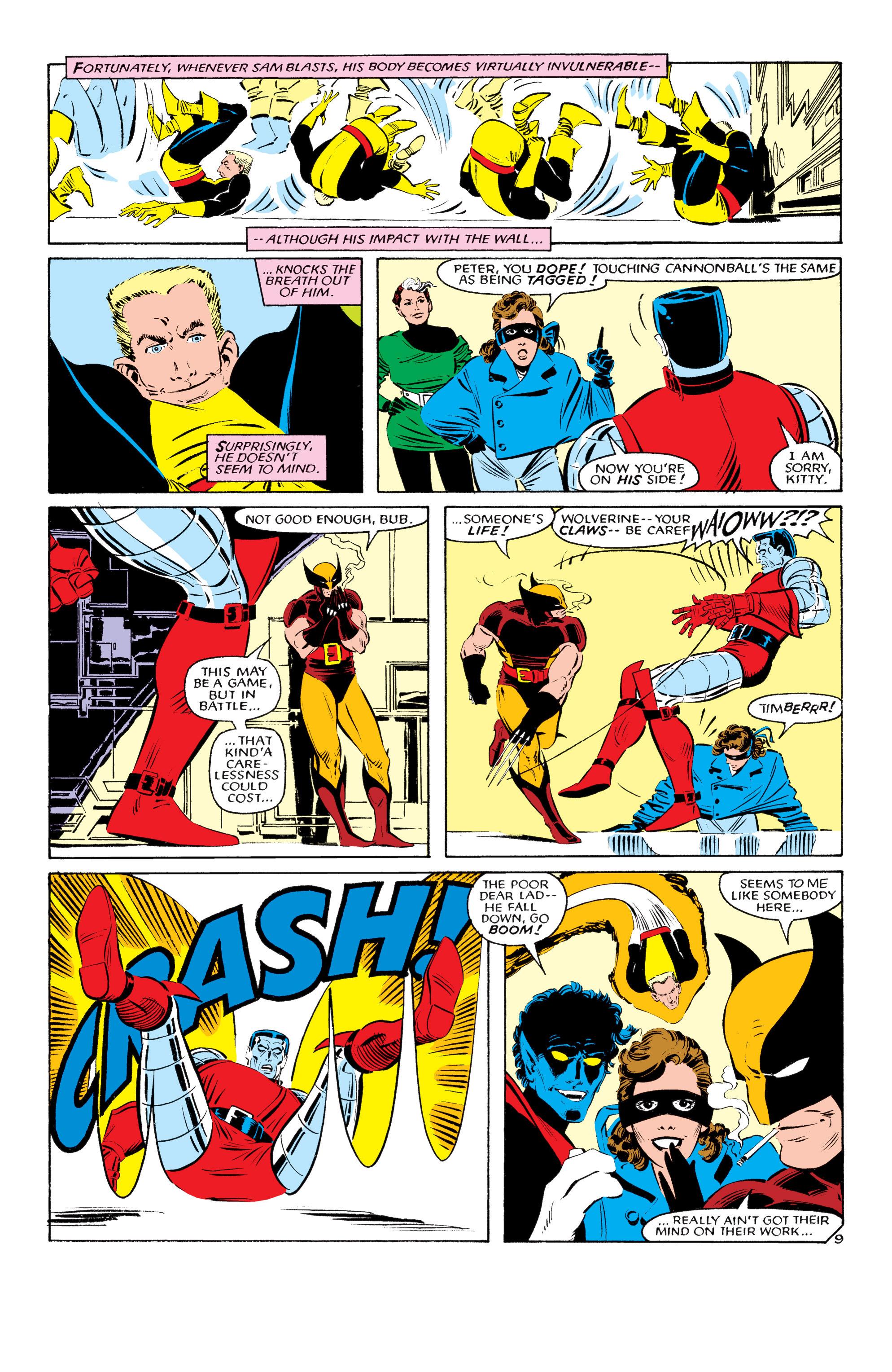 Read online Uncanny X-Men (1963) comic -  Issue #193 - 10