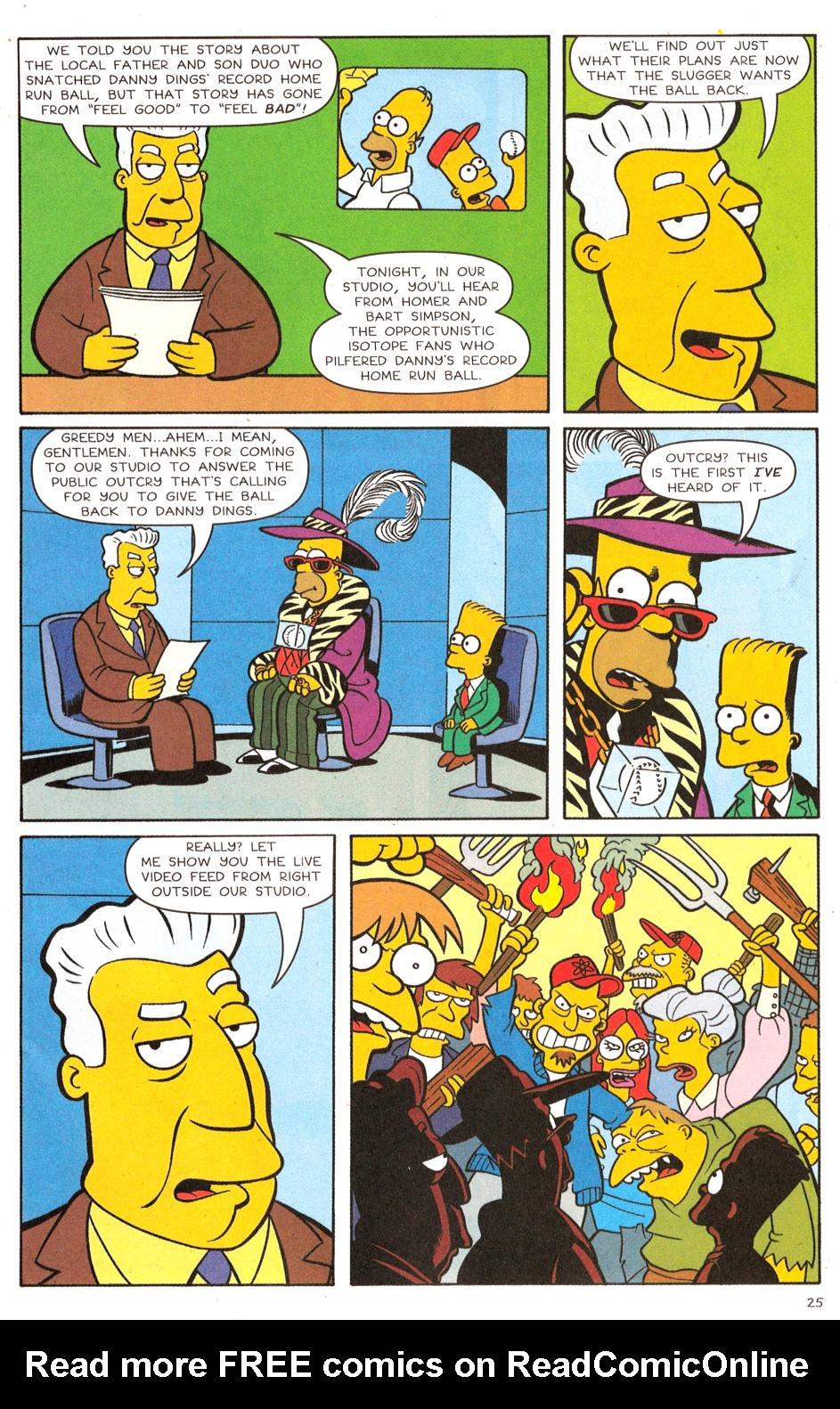 Read online Simpsons Comics comic -  Issue #120 - 20