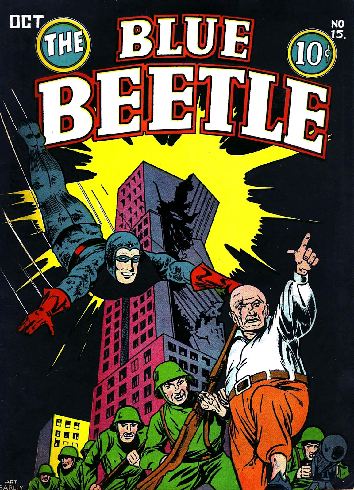 The Blue Beetle issue 15 - Page 1