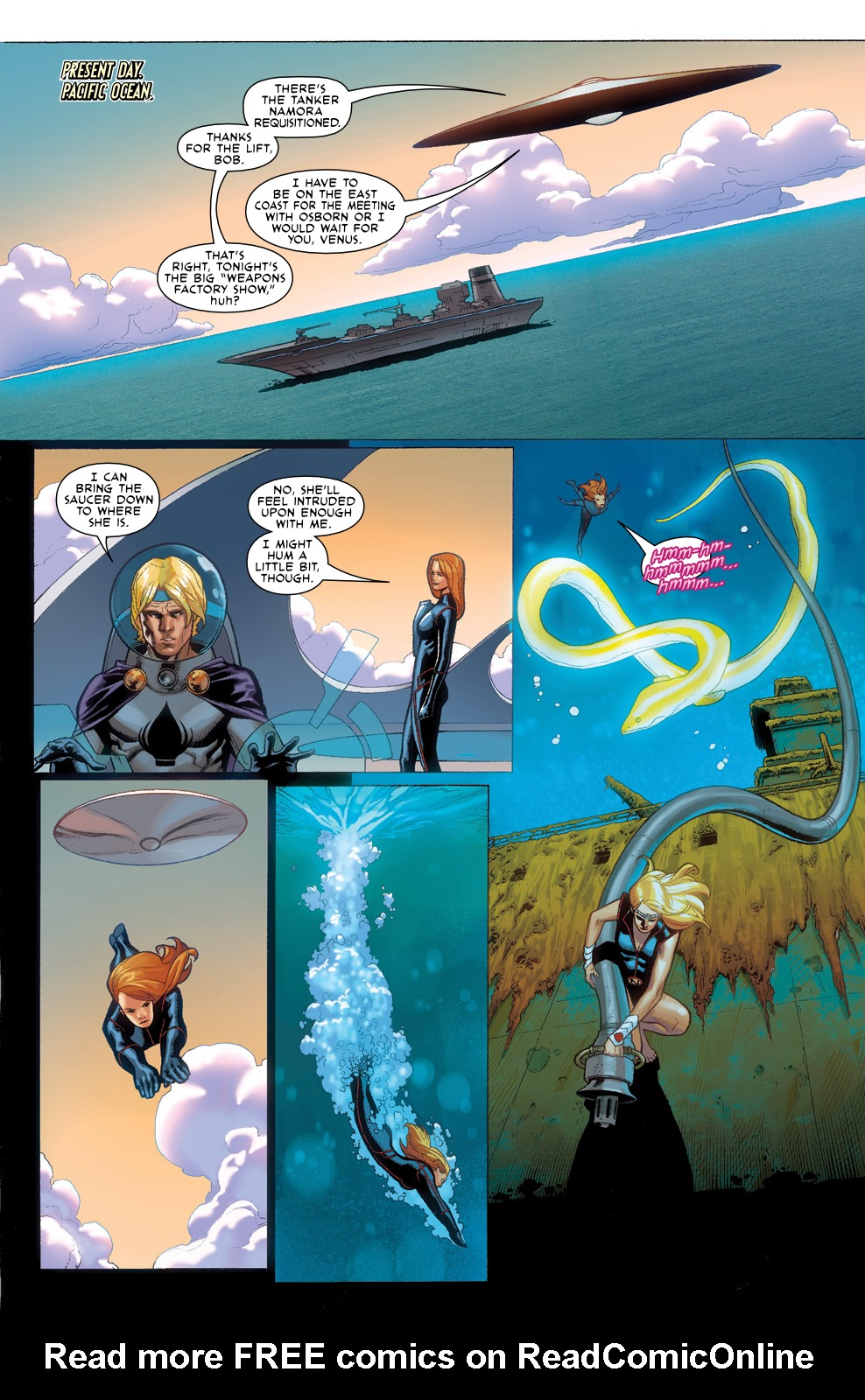 Read online Agents Of Atlas (2009) comic -  Issue #3 - 10