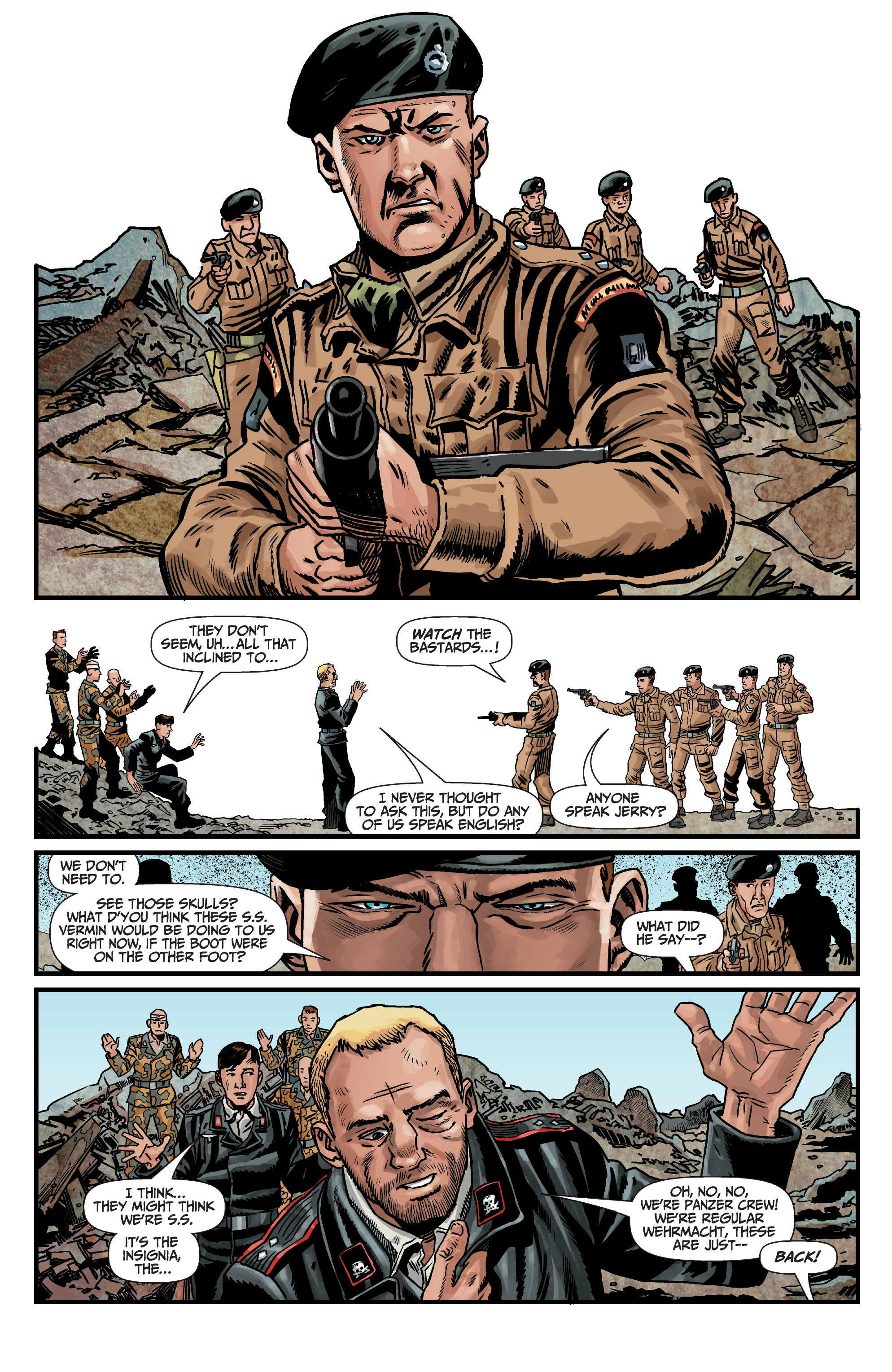 Read online World of Tanks comic -  Issue #5 - 17