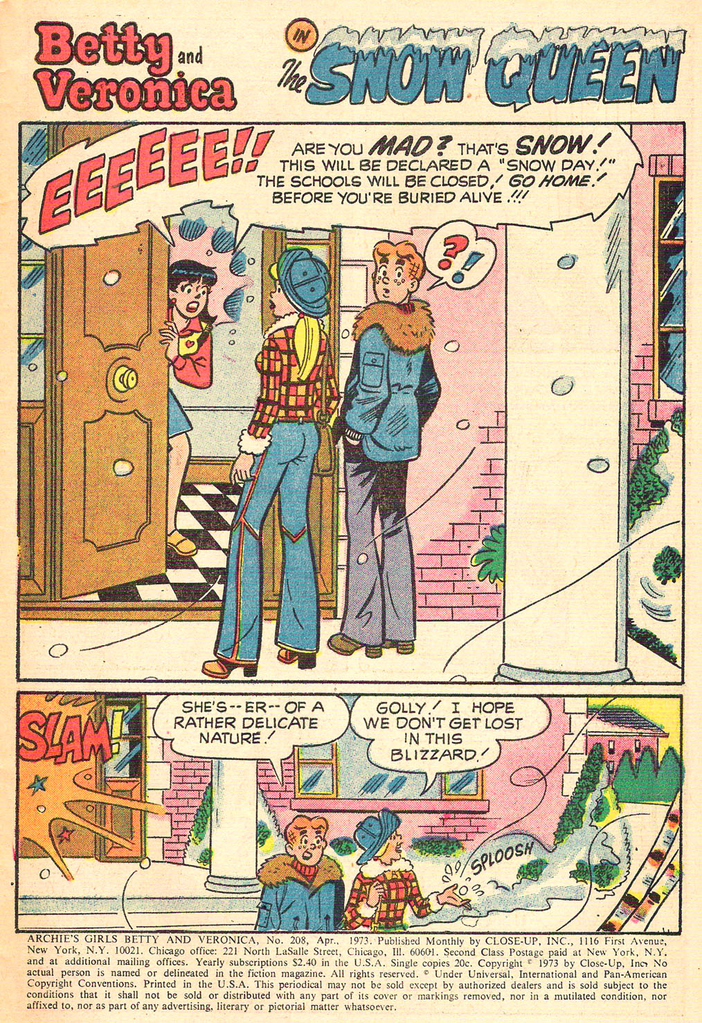 Read online Archie's Girls Betty and Veronica comic -  Issue #208 - 3