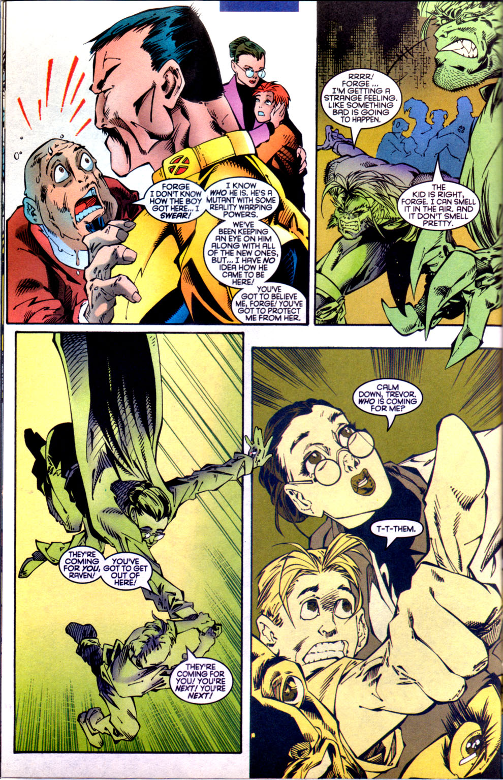 Read online X-Factor (1986) comic -  Issue #134 - 19