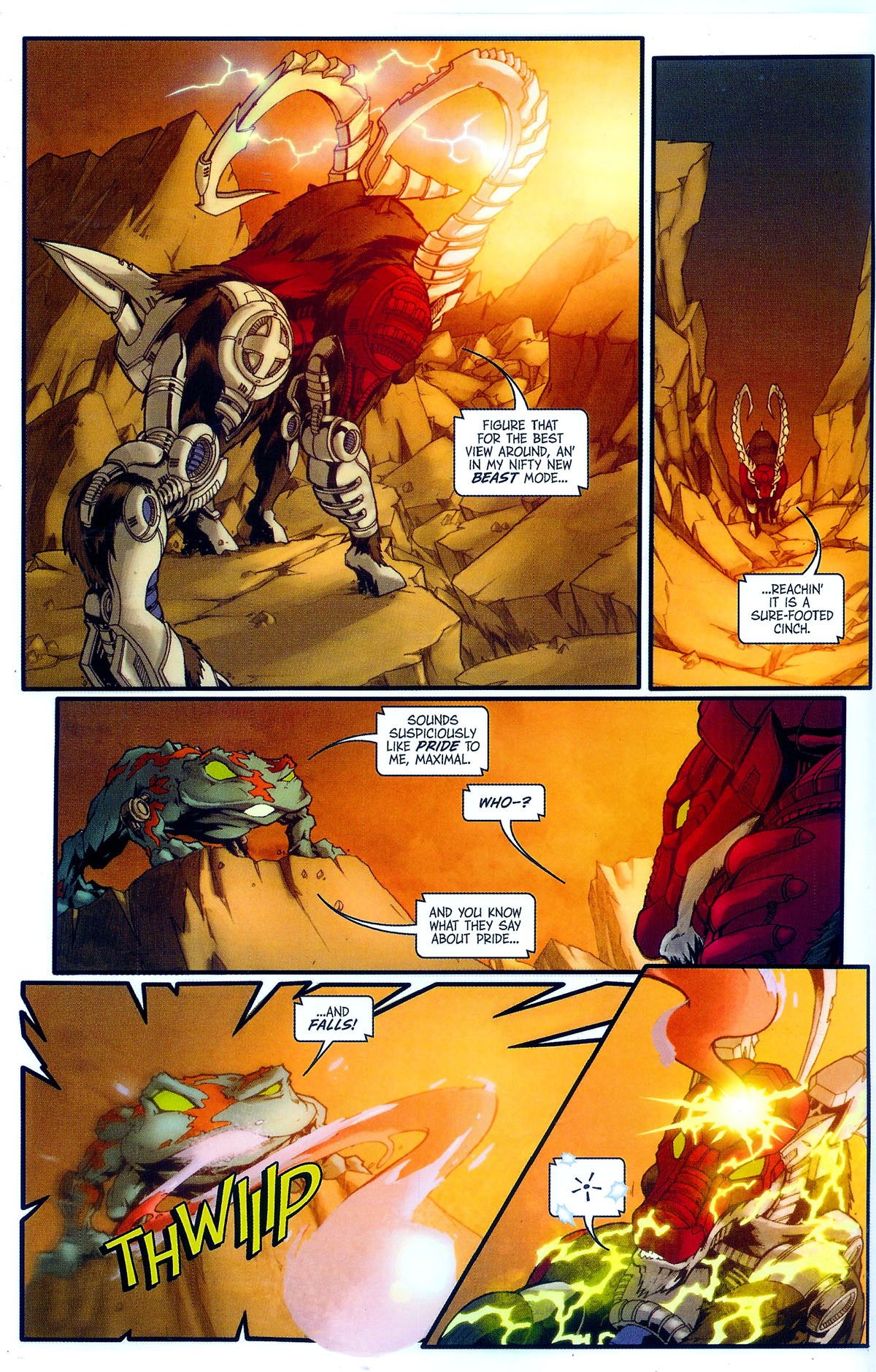 Read online Transformers, Beast Wars: The Gathering comic -  Issue #2 - 13