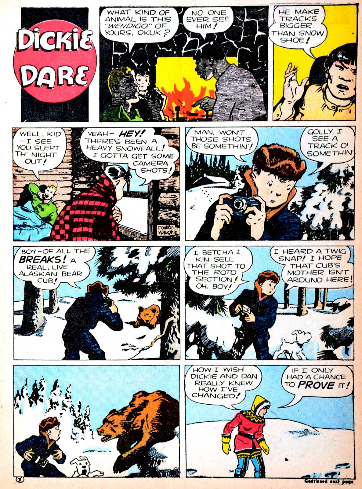 Read online Famous Funnies comic -  Issue #88 - 11